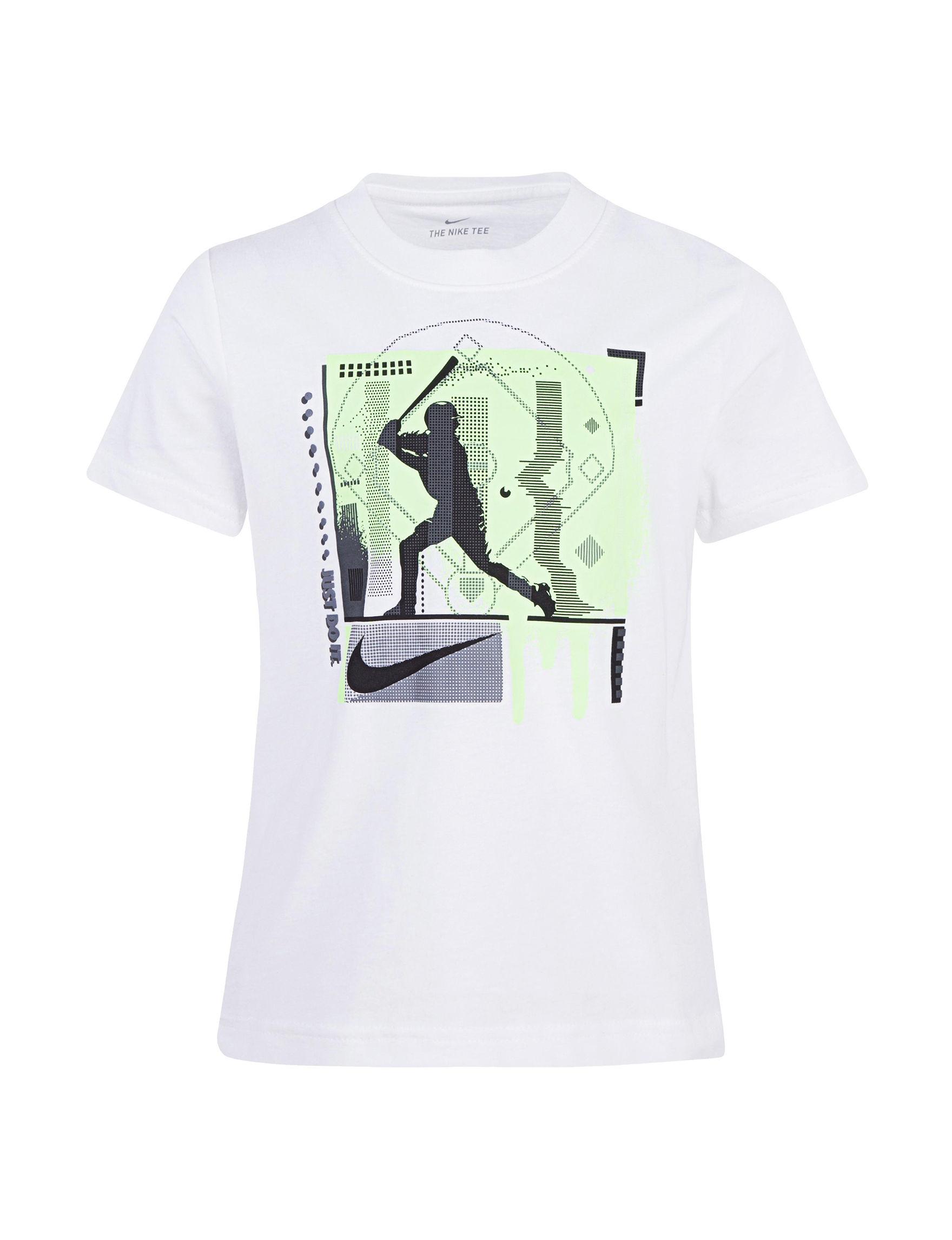 Nike White Tees & Tanks