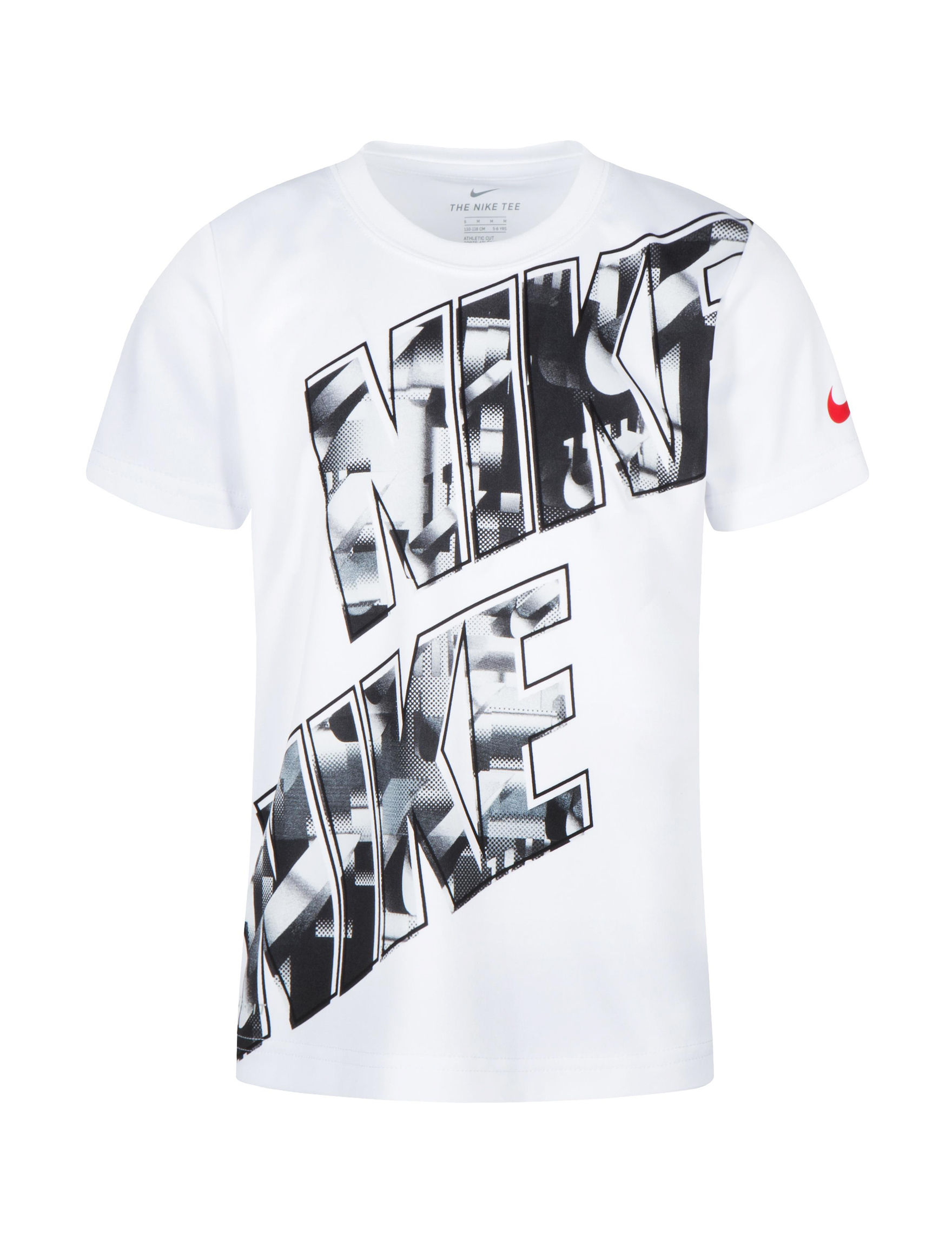 a615a647a Nike Dri-FIT Muddy Logo Block Graphic T-shirt - Toddlers & Boys 5-7 ...