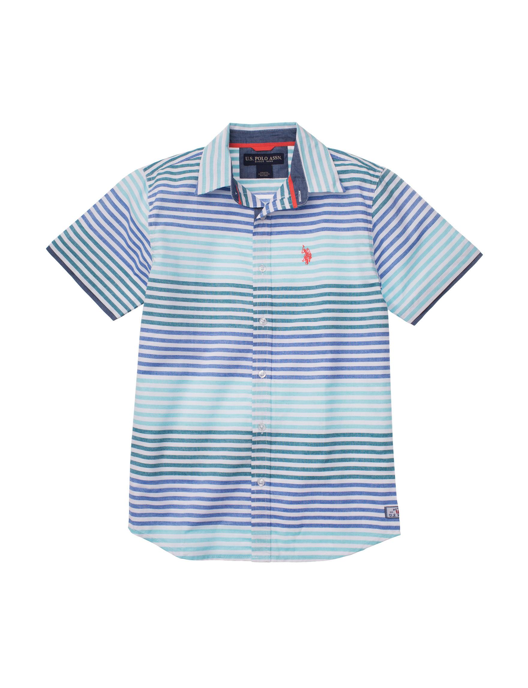 U.S. Polo Assn. Blue Stripe