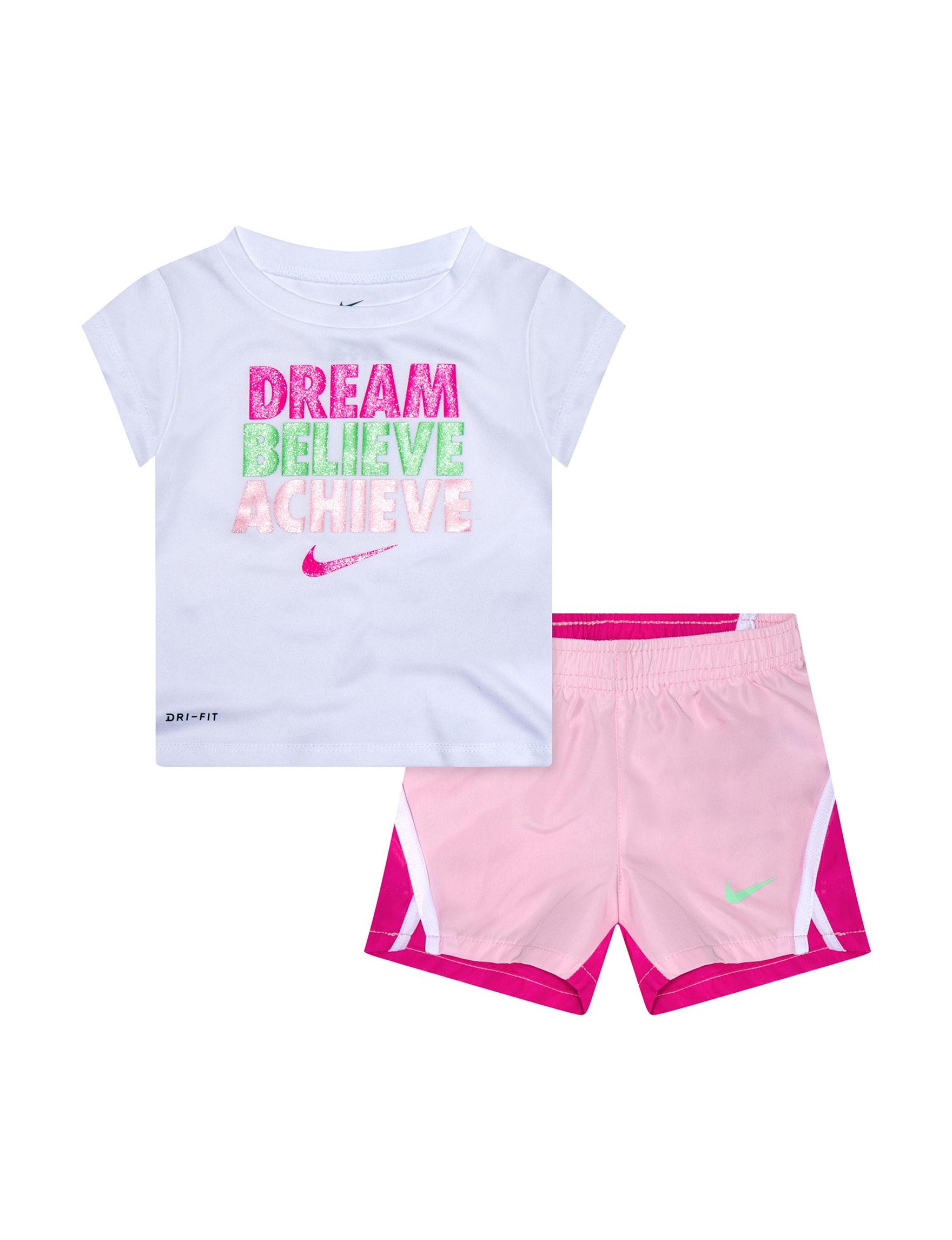Nike Pink / White / Green