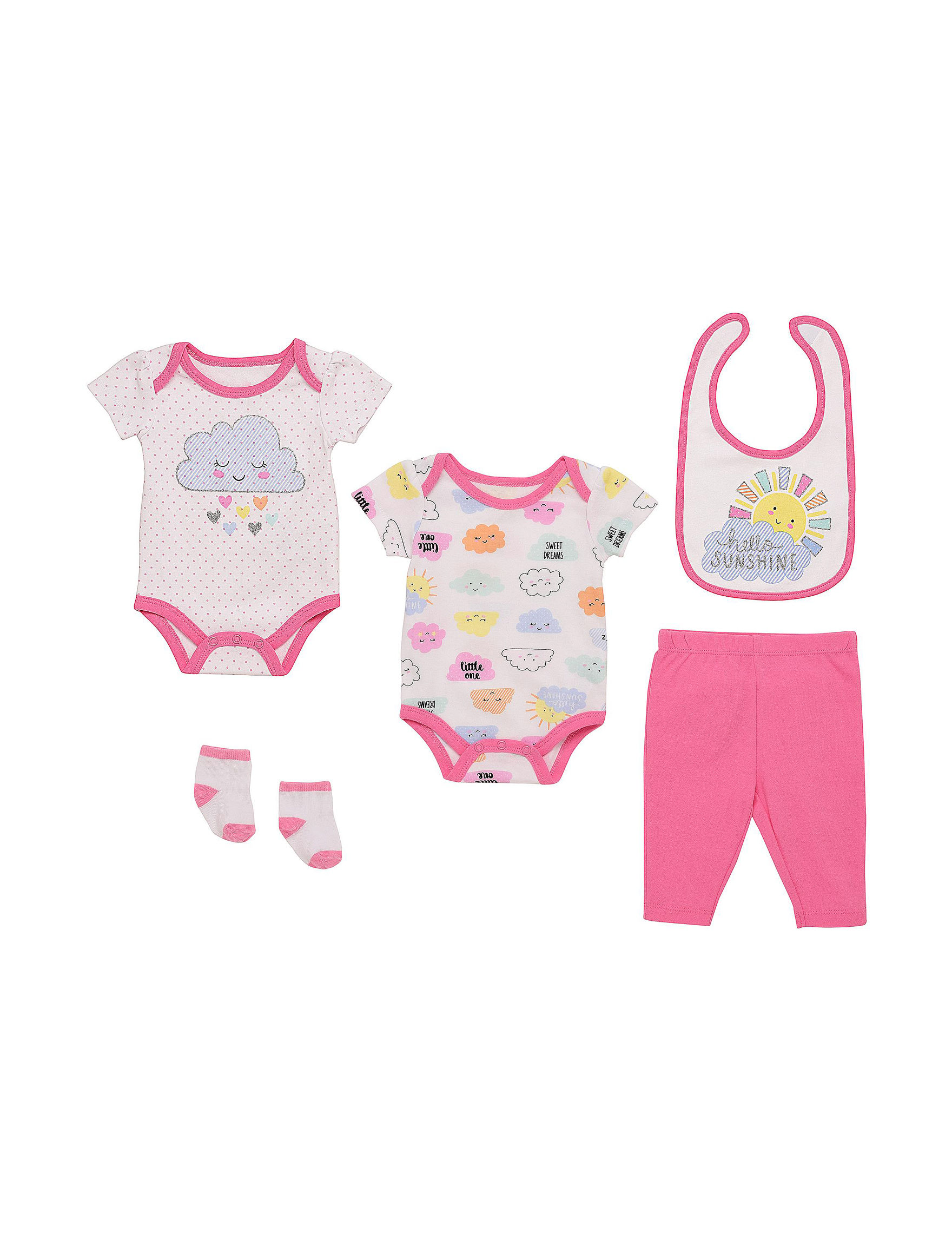 Baby Starters Pink Multi