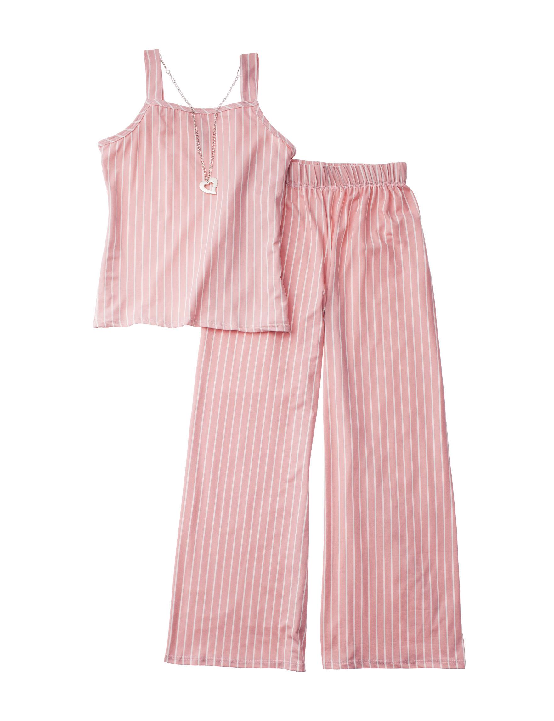 Insta Girl Pink Stripe Tees & Tanks