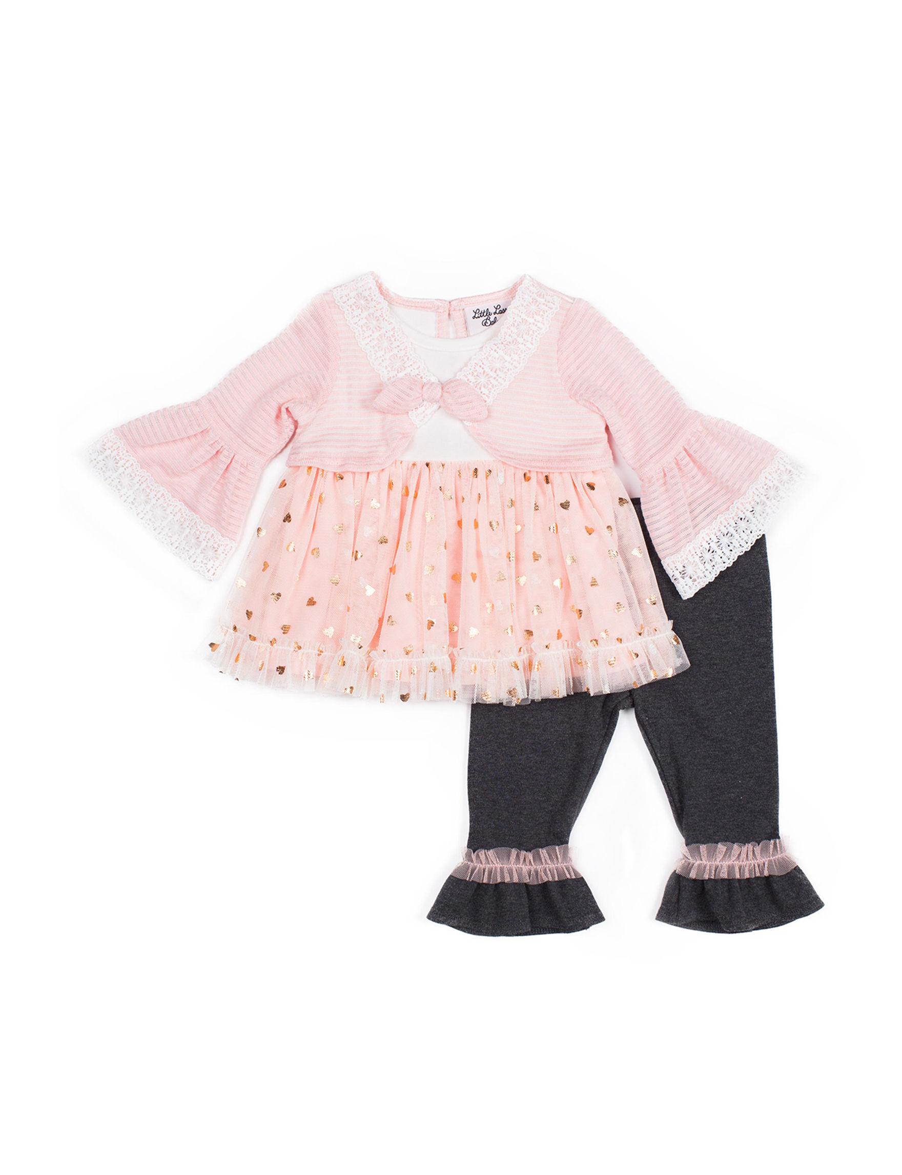 Little Lass Pink / Black