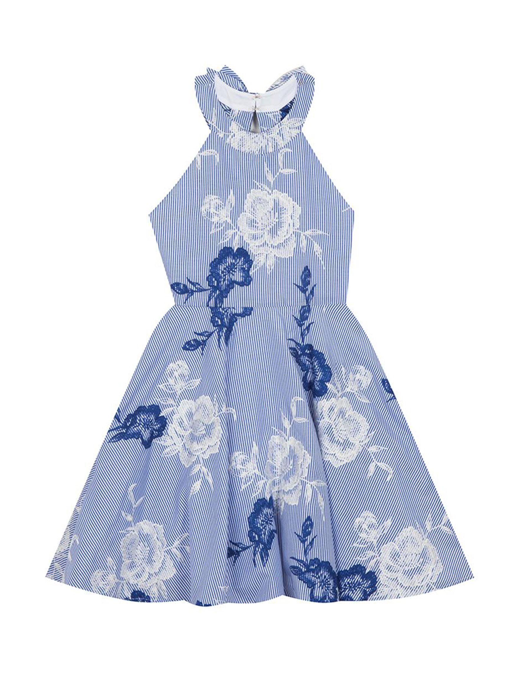 Rare Editions Blue Floral