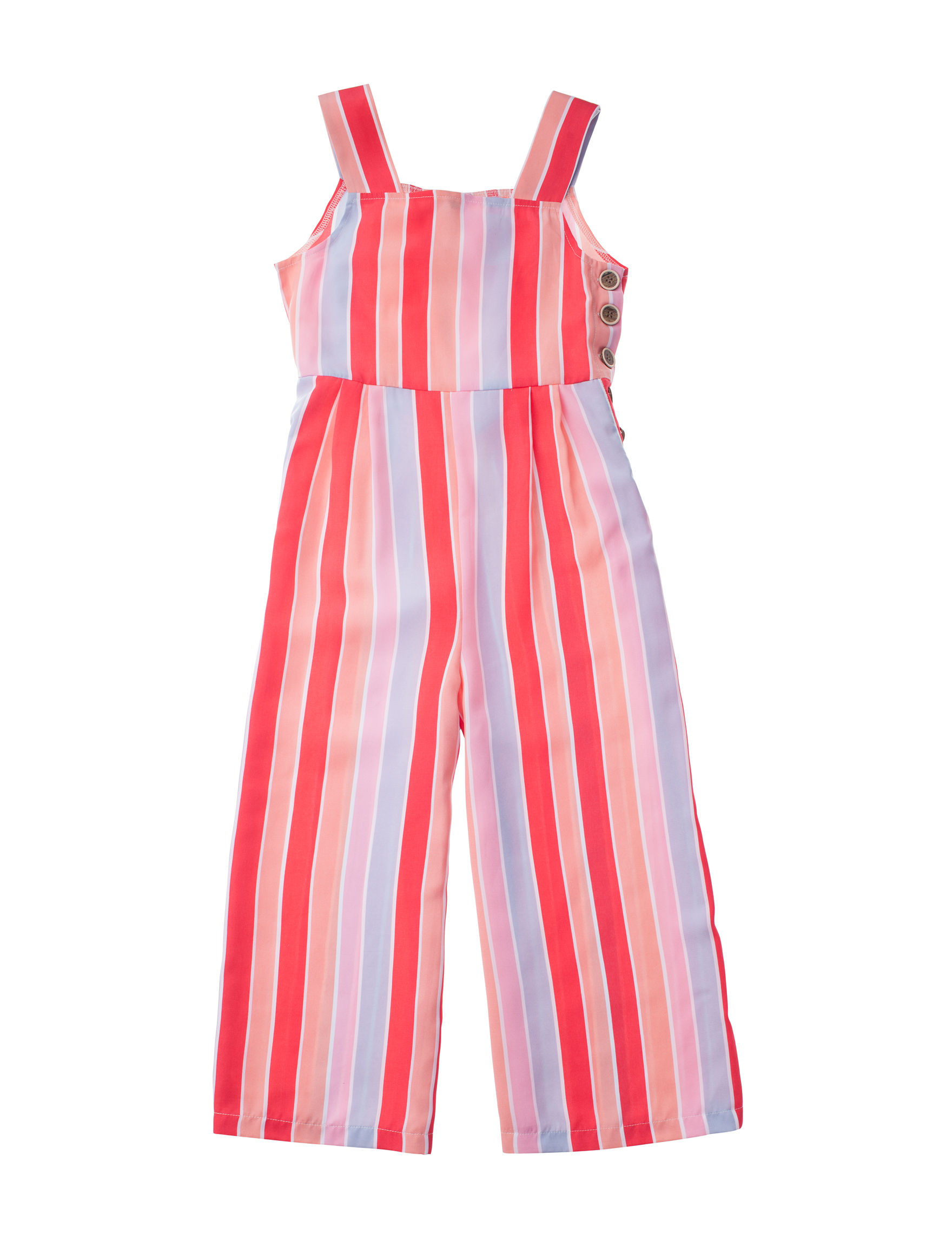My Michelle Coral Stripe