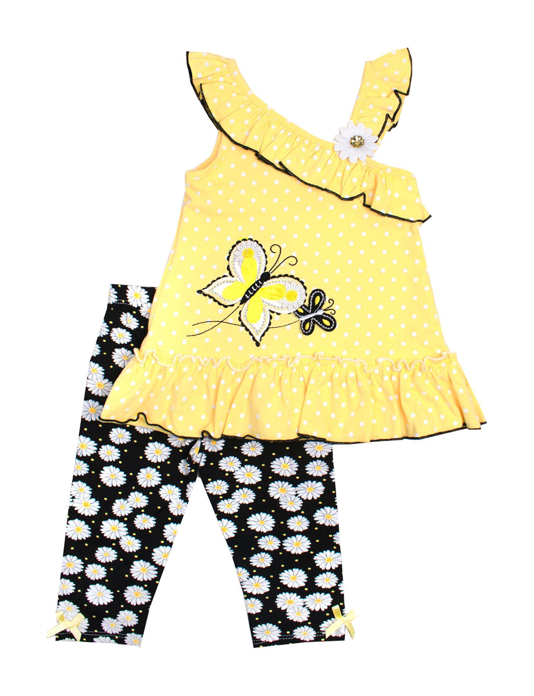 Nannette Yellow / Black