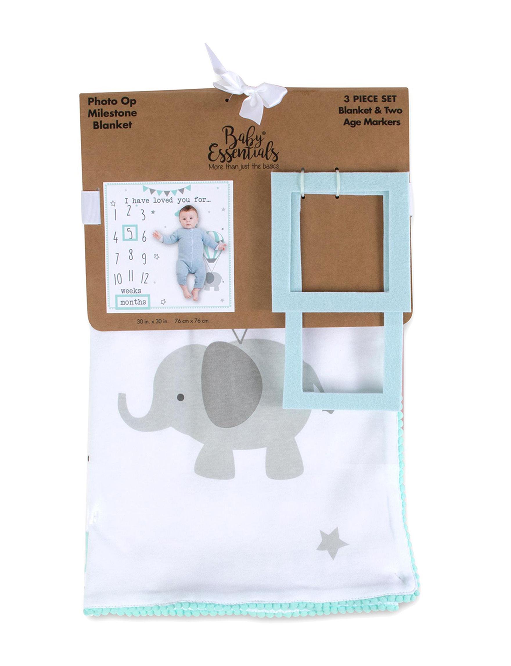 Baby Essentials White / Mint