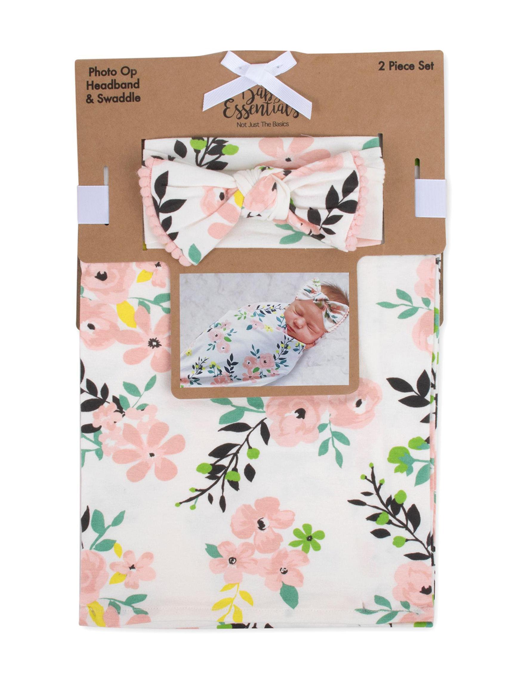 Baby Essentials Ivory Floral