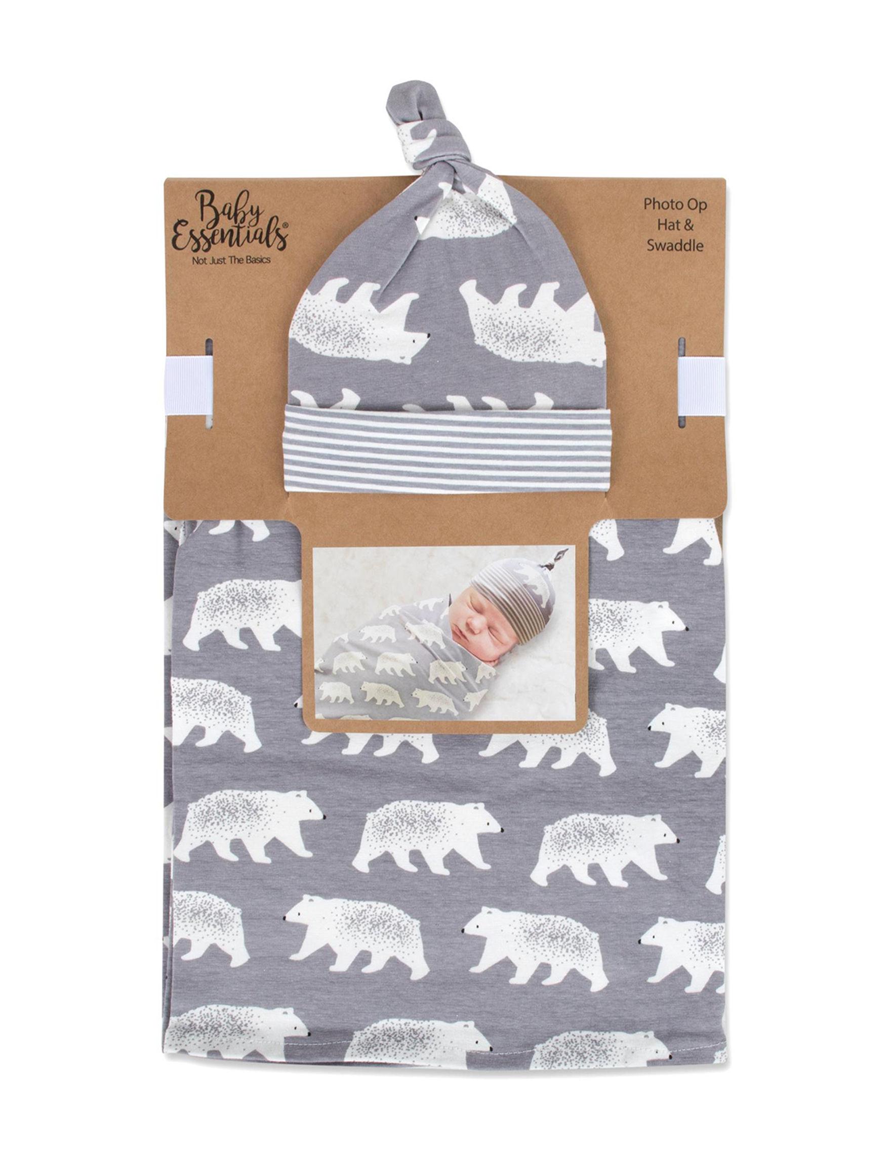 Baby Essentials Grey / White