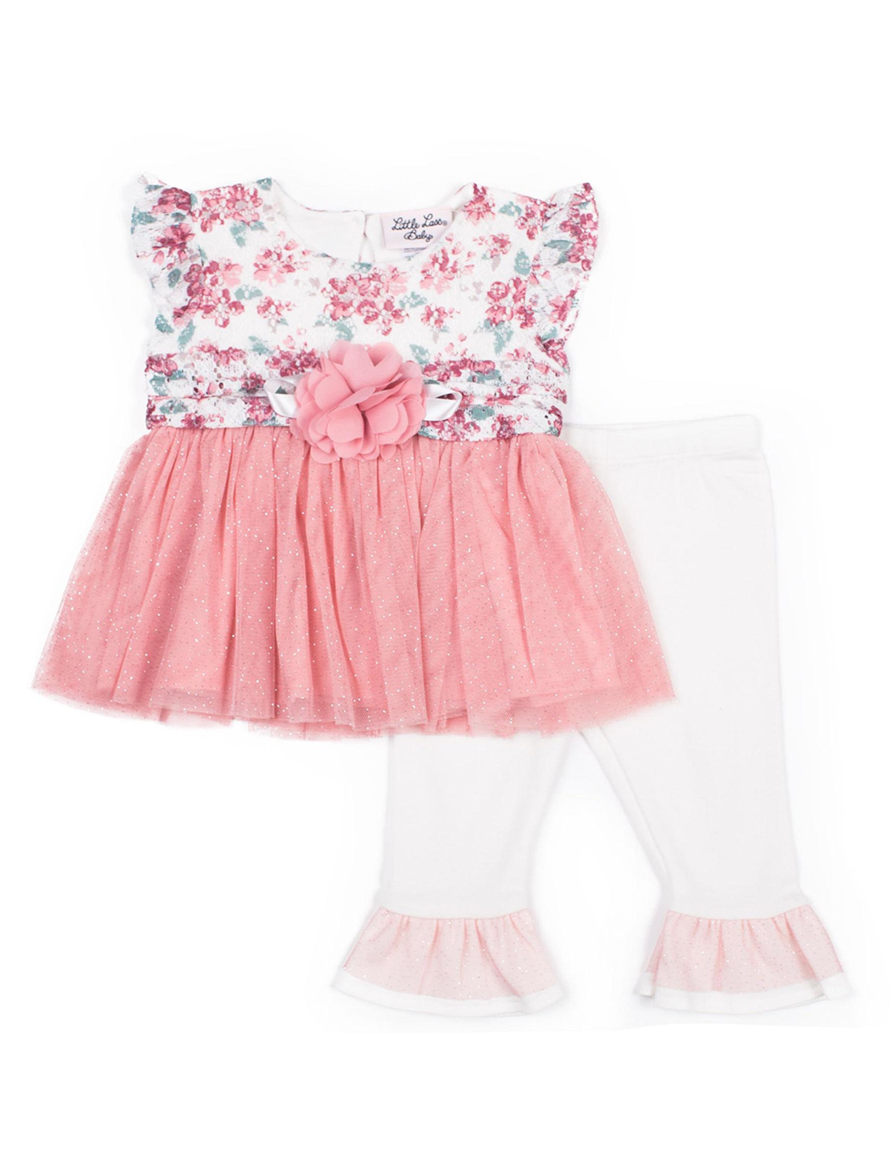 Little Lass Pink Floral