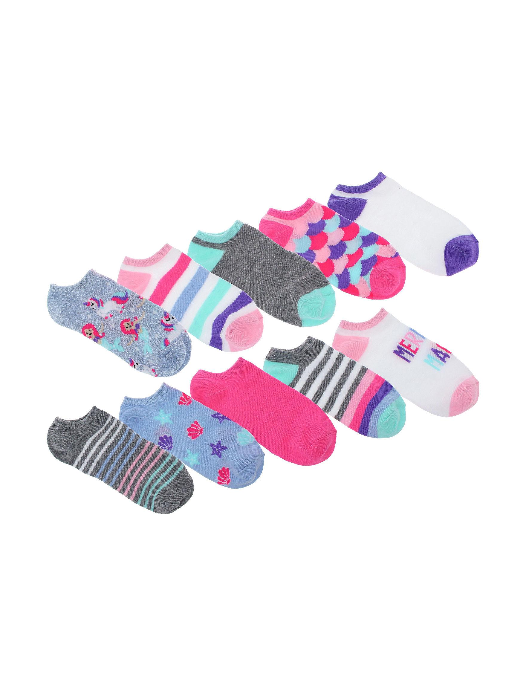 Capelli Blue Multi Socks