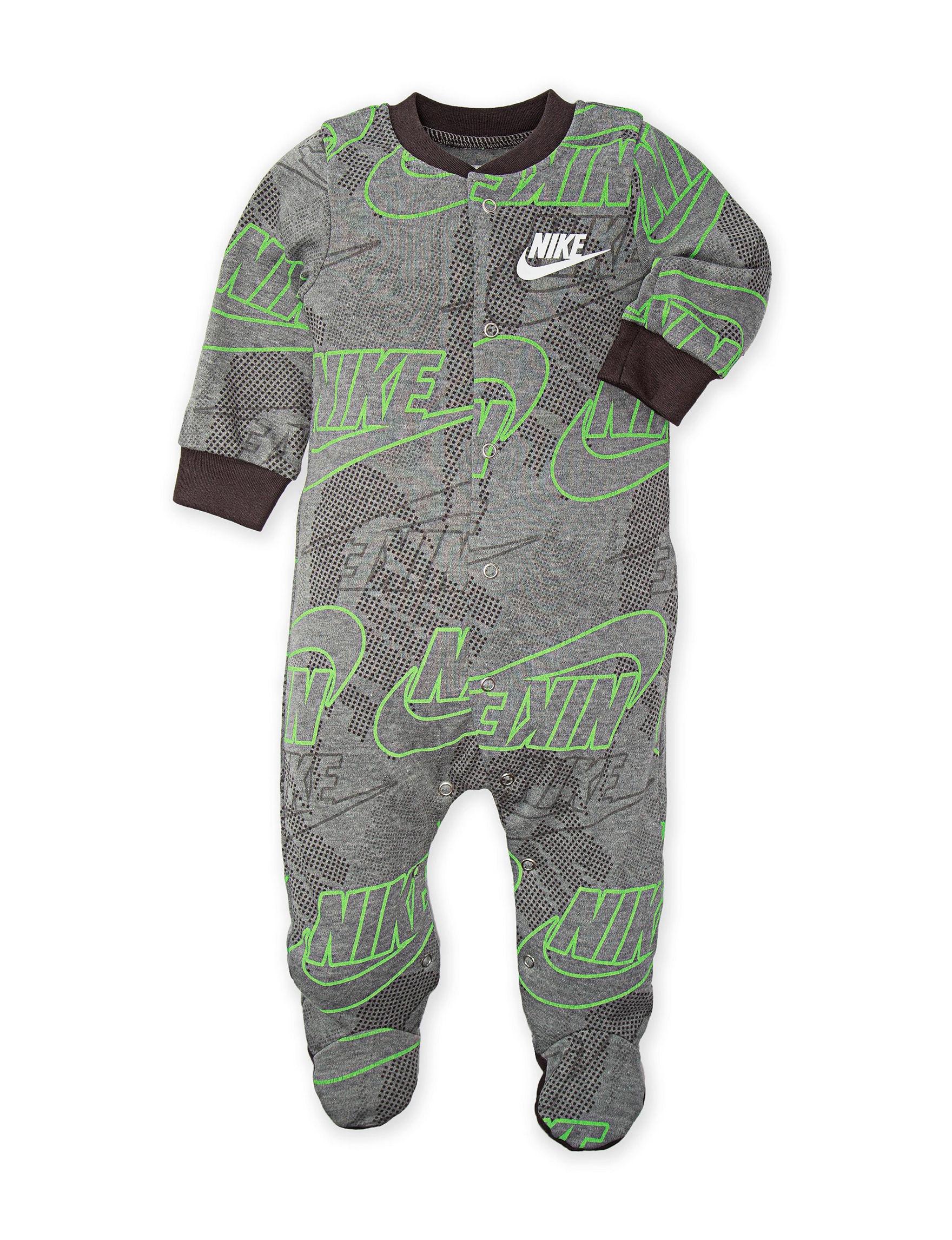 Nike Grey / Green