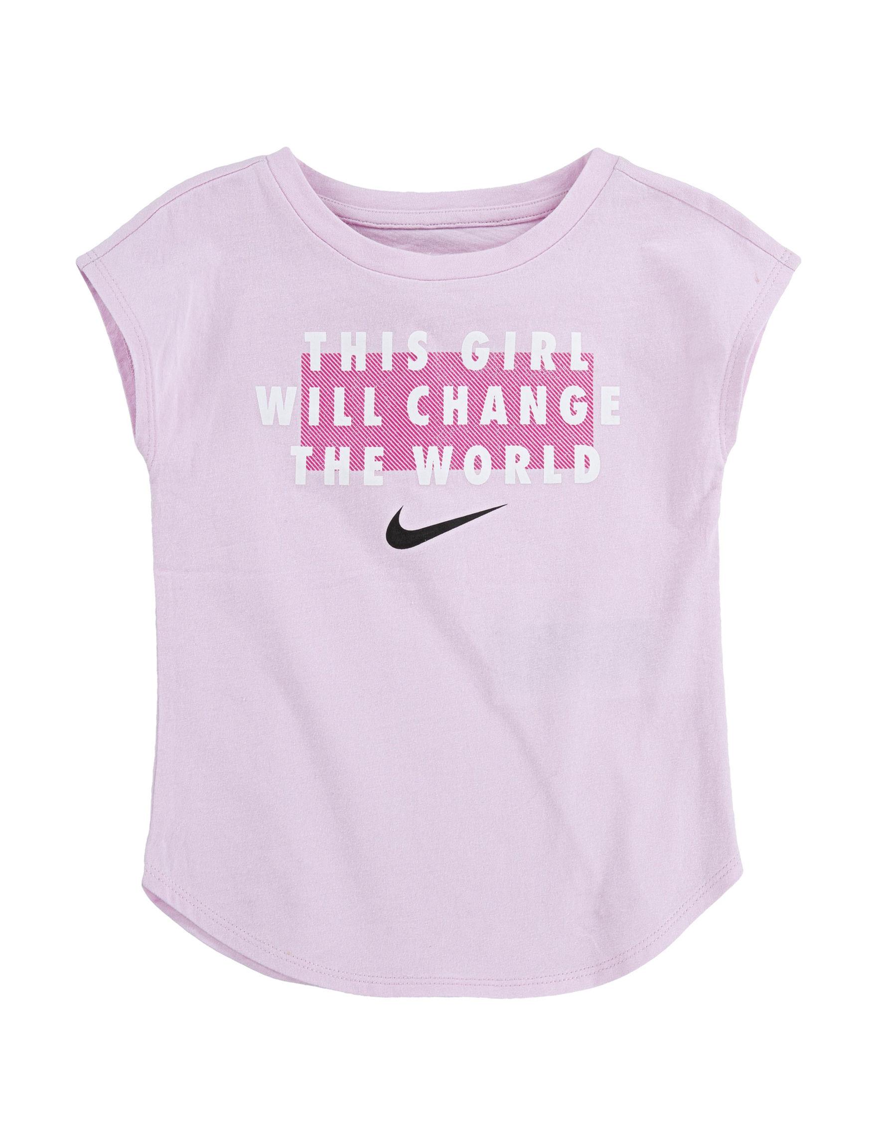 Nike Light Pink Tees & Tanks