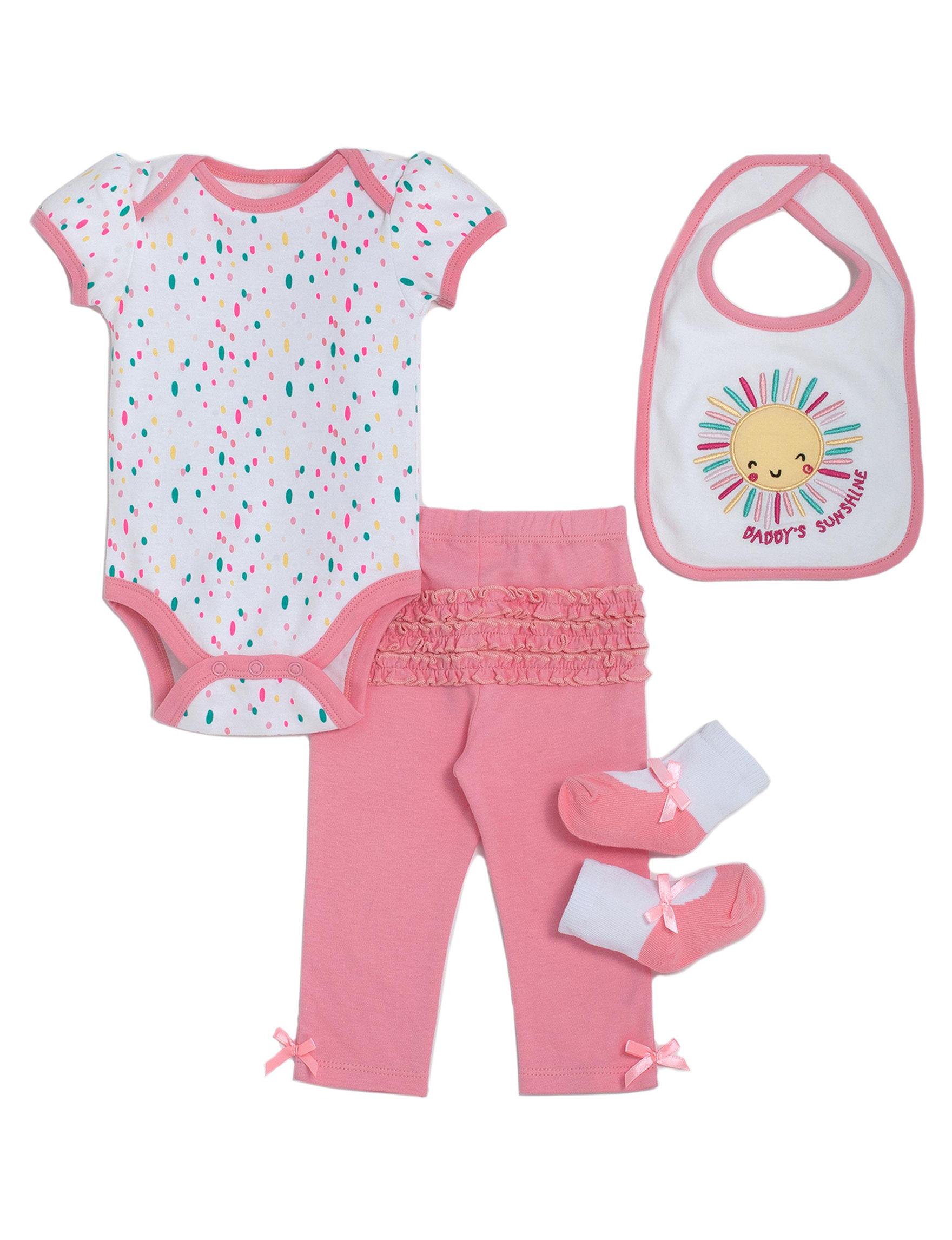 Cutie Pie Pink / White
