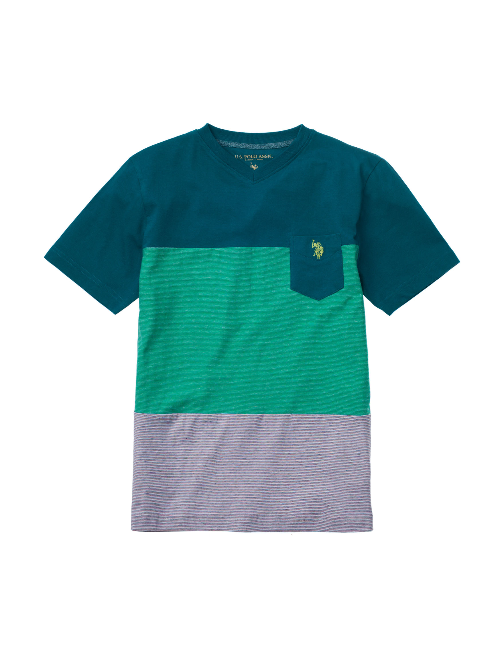 U.S. Polo Assn. Teal Tees & Tanks