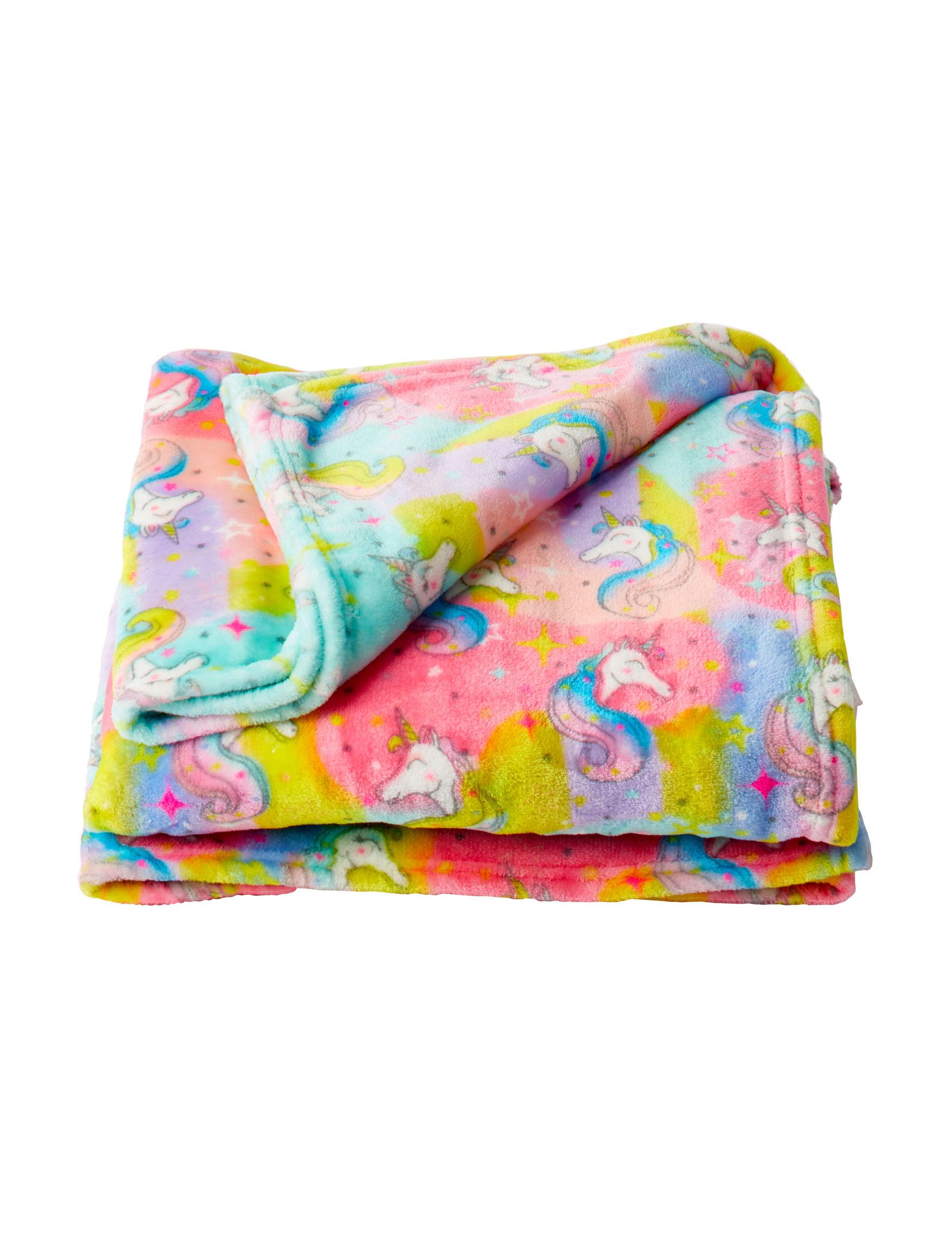 Mystic Apparel Rainbow Blankets & Throws