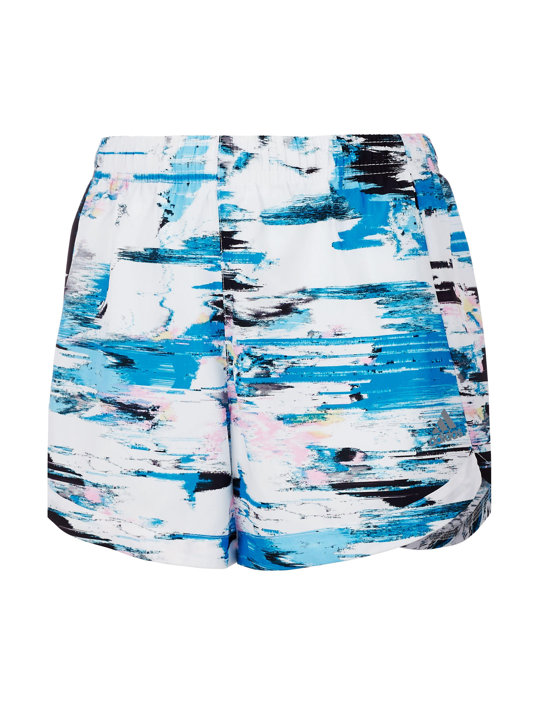 Adidas White / Blue Multi