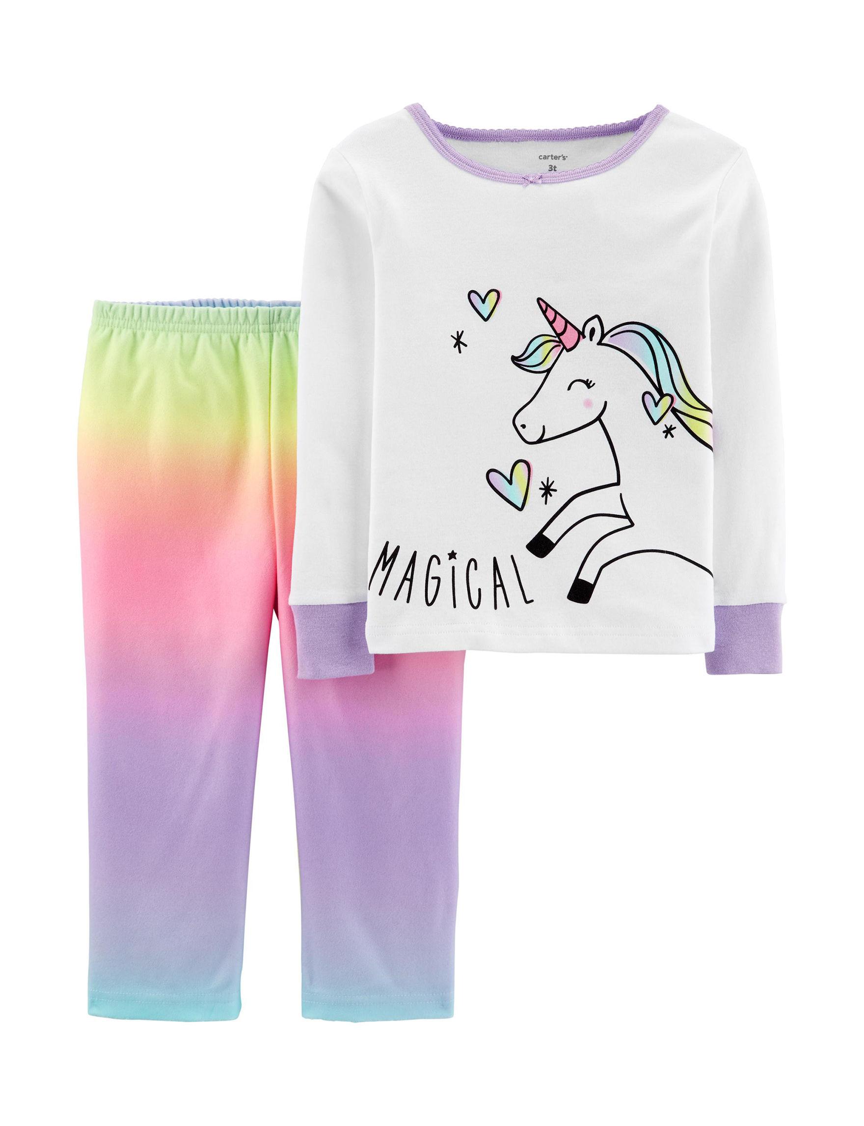 Carter's Rainbow Pajama Sets