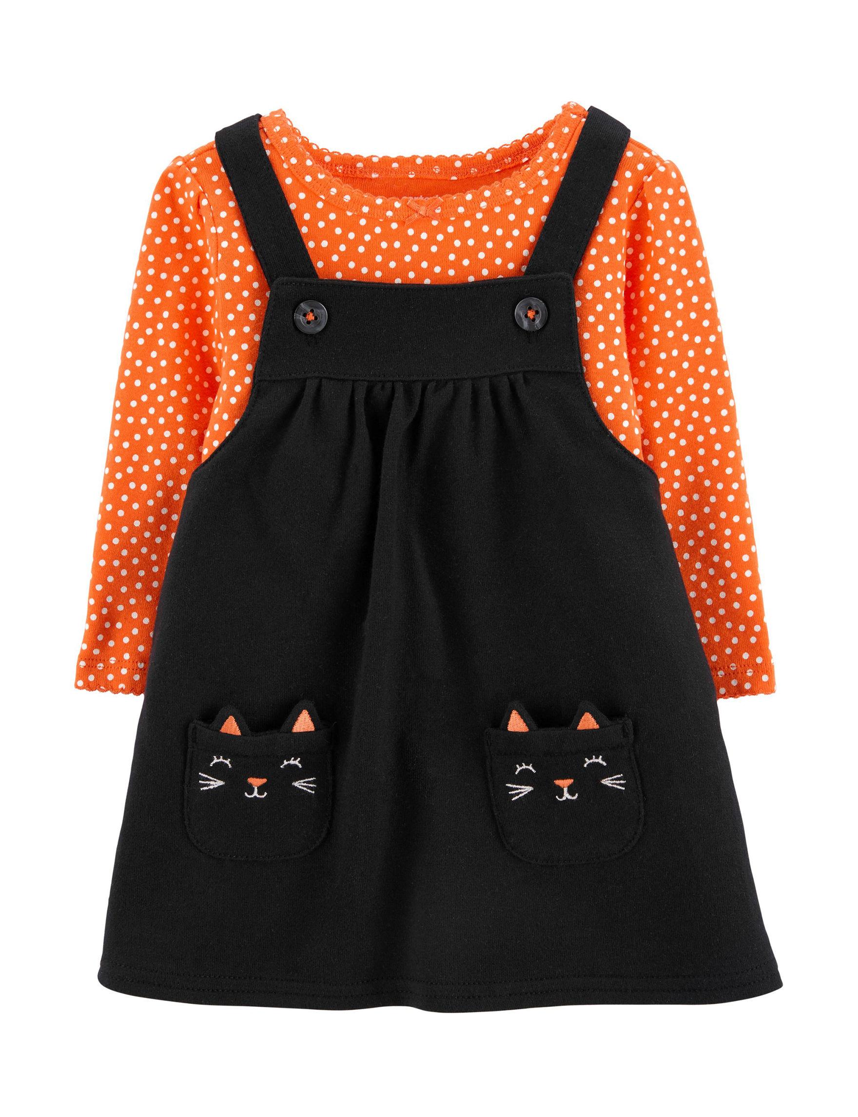 Carter's Black / Orange