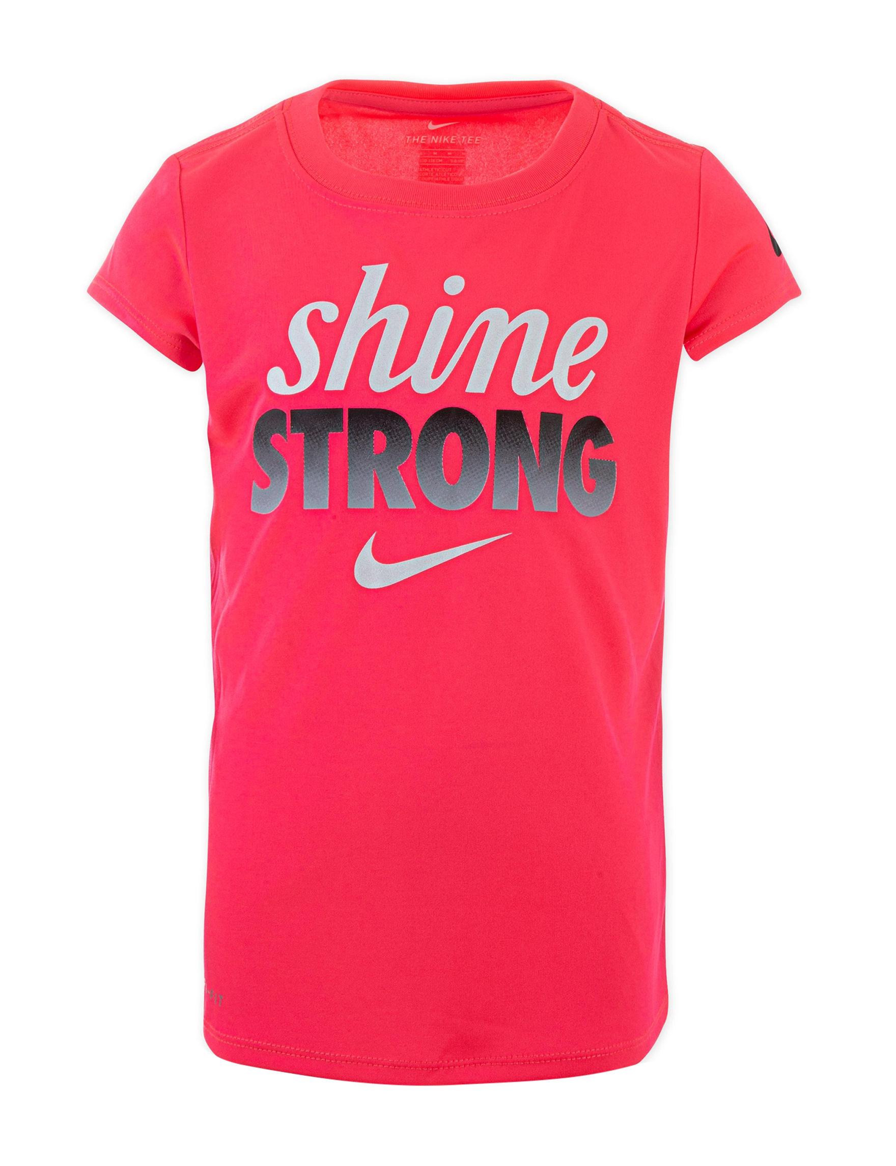 Nike Racer Pink Tees & Tanks