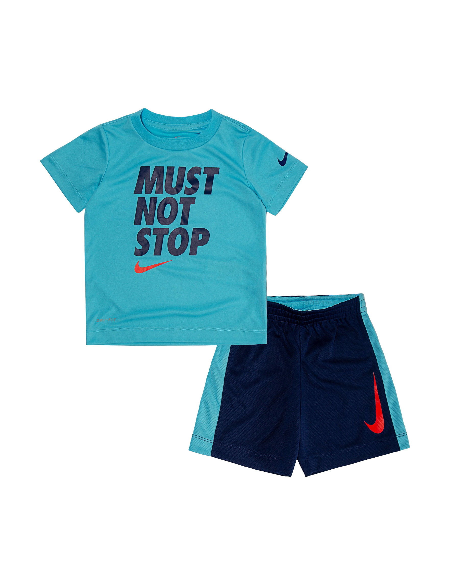 60a8b62d4690 Nike 2-pc. Dri-FIT Must Not Stop T-shirt & Shorts Set - Baby 12-24 Mos.