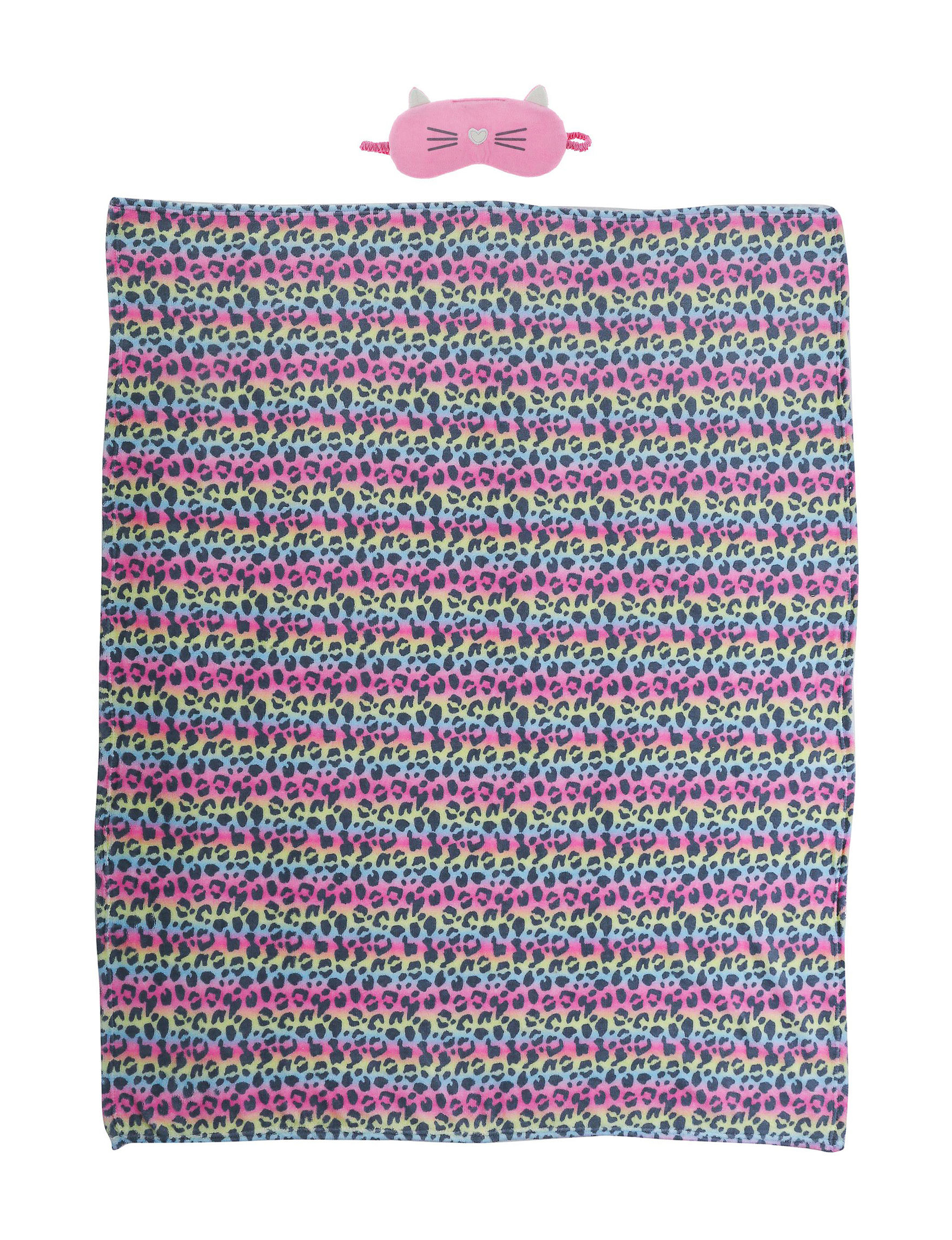 Capelli Pink / Multi Blankets & Throws