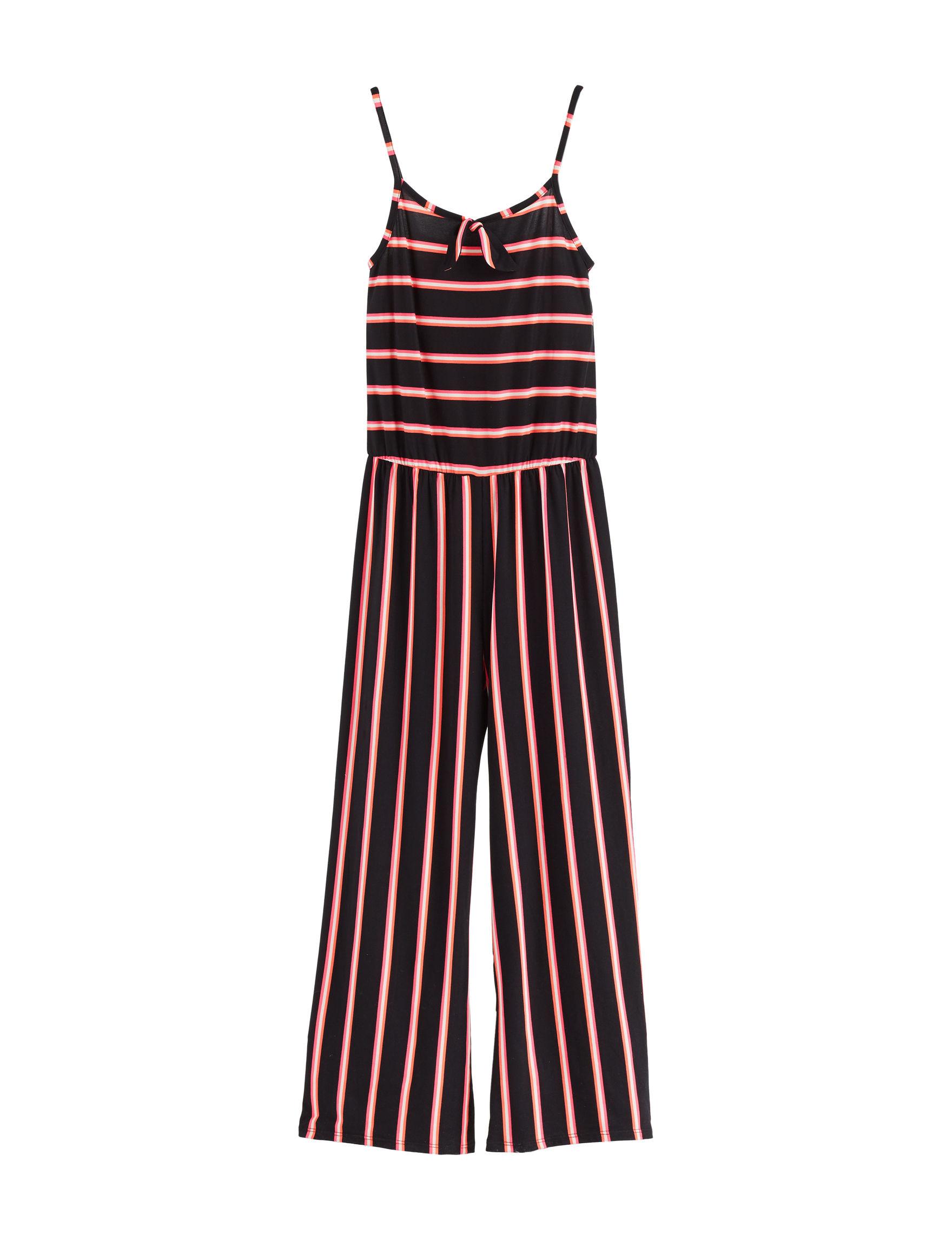 Insta Girl Coral Stripe