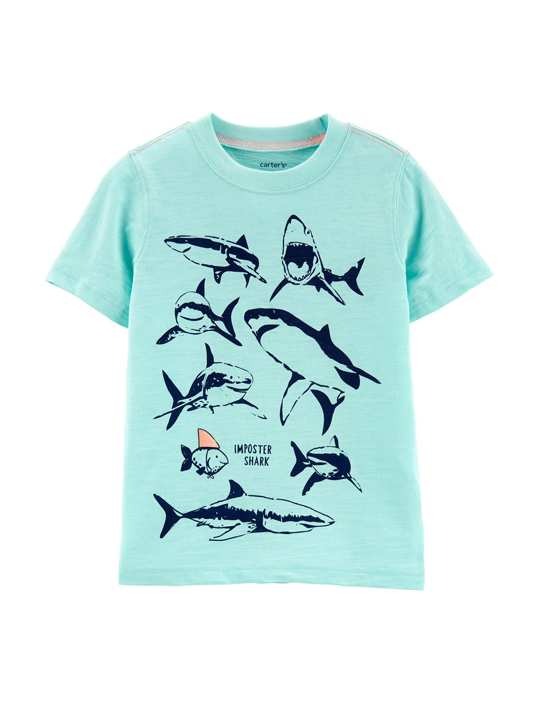 ebedf2bdc Carter's Imposter Shark Graphic T-shirt - Toddler Boys | Stage Stores