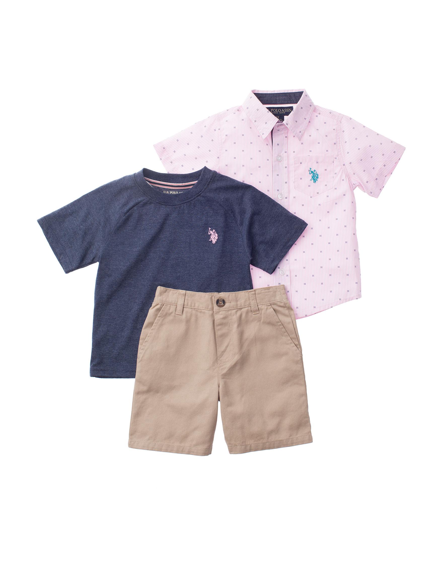 U.S. Polo Assn. Pink / Blue