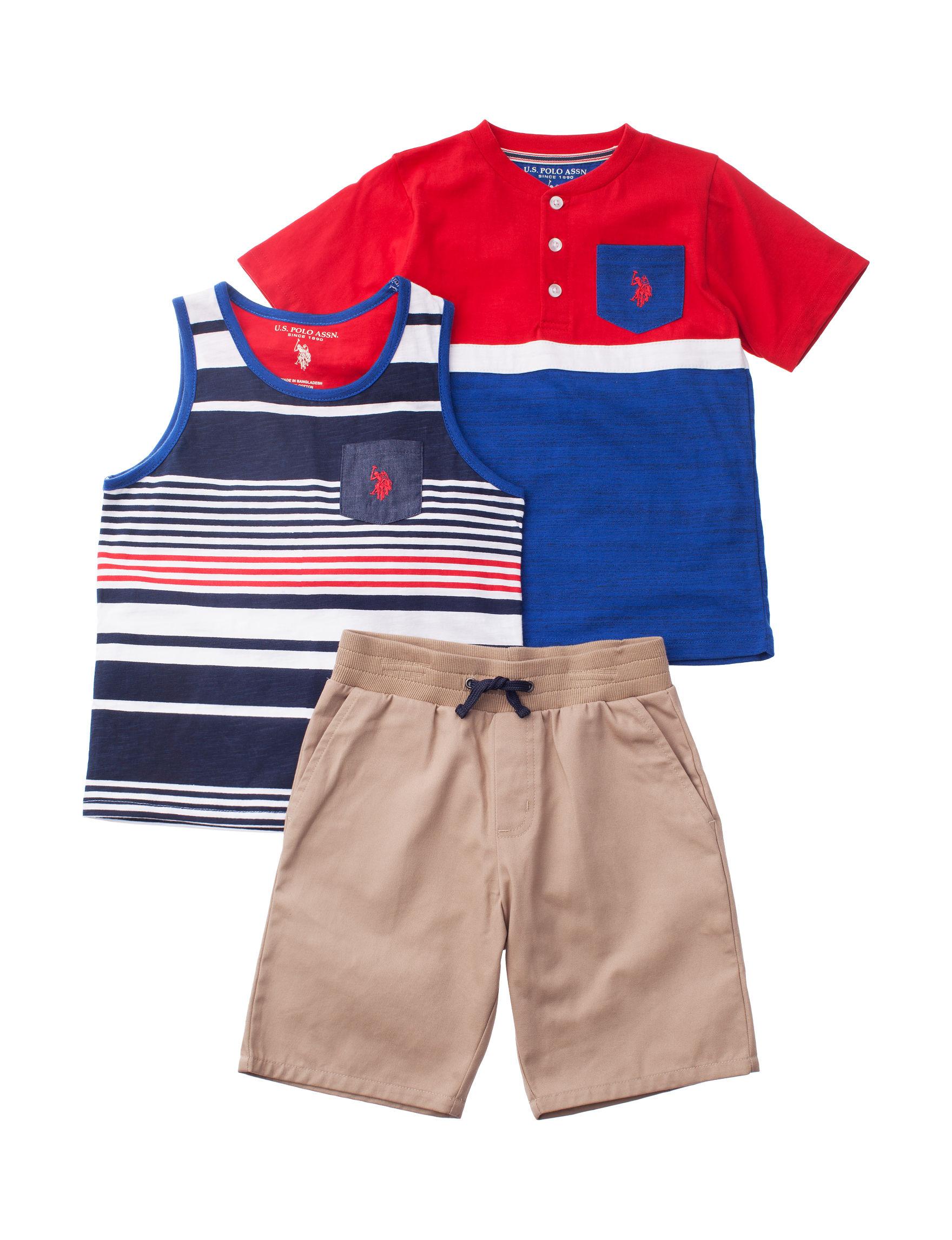 U.S. Polo Assn. Red / White / Blue