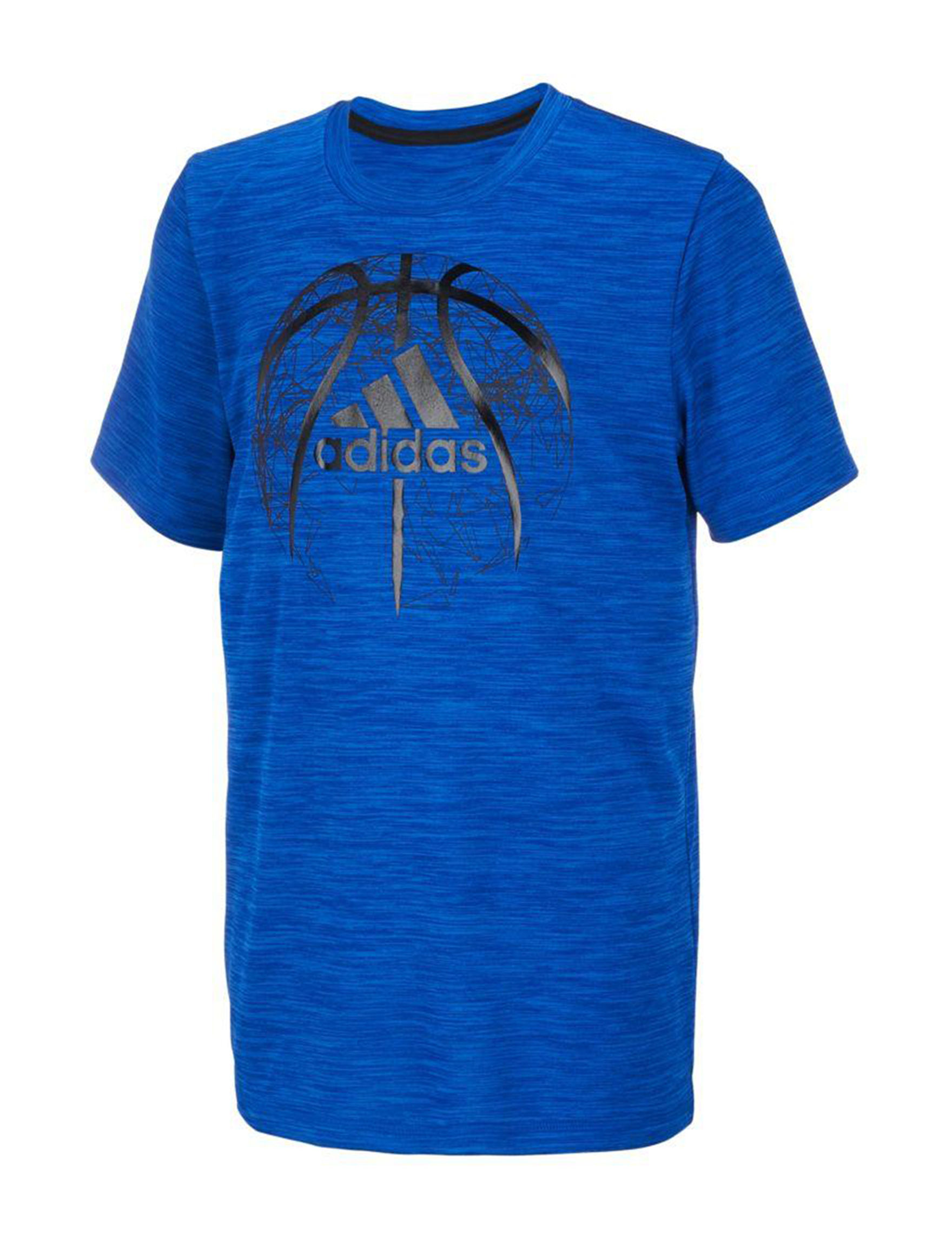 Adidas Royal Blue Tees & Tanks