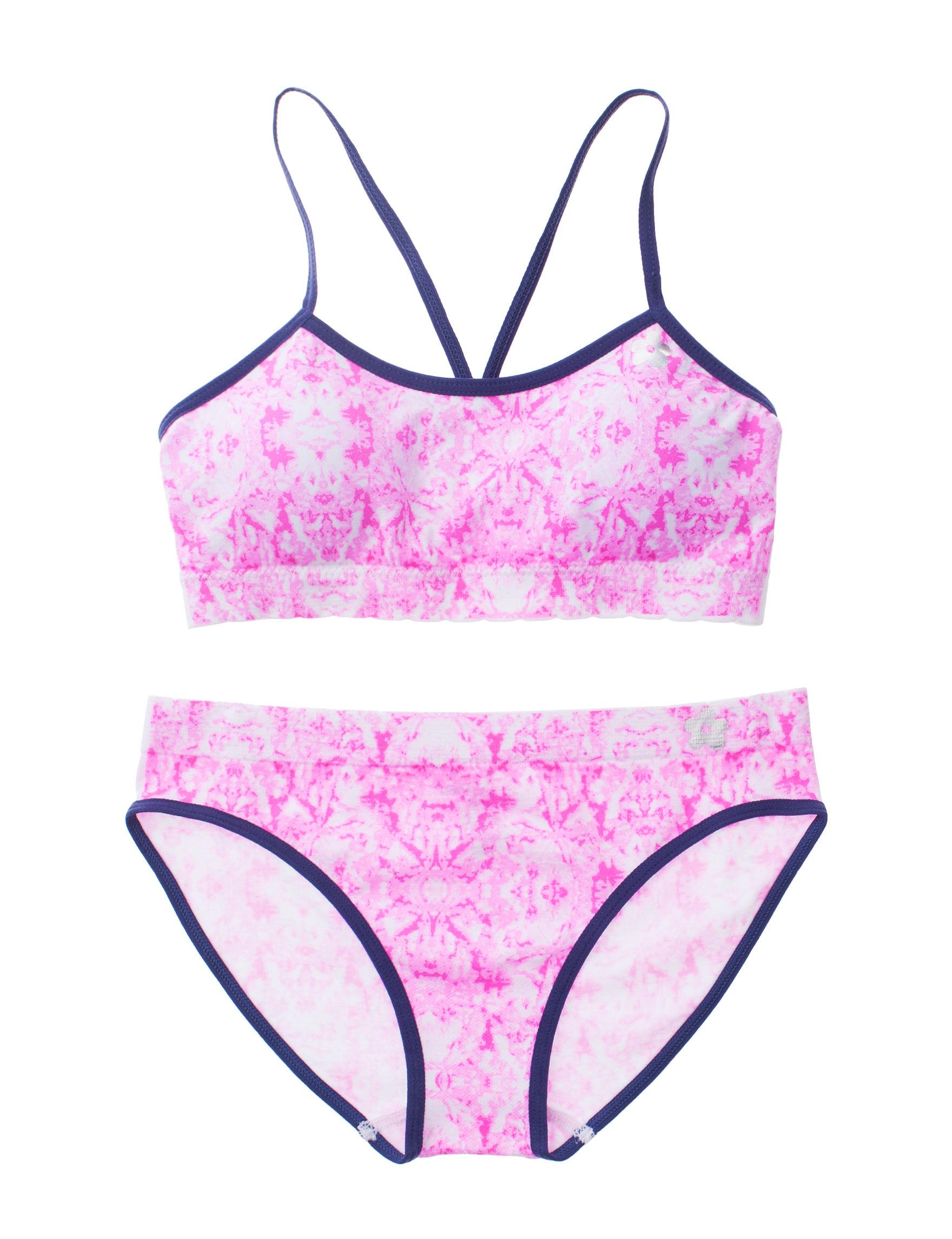 Limited Too Raspberry Bras Panties