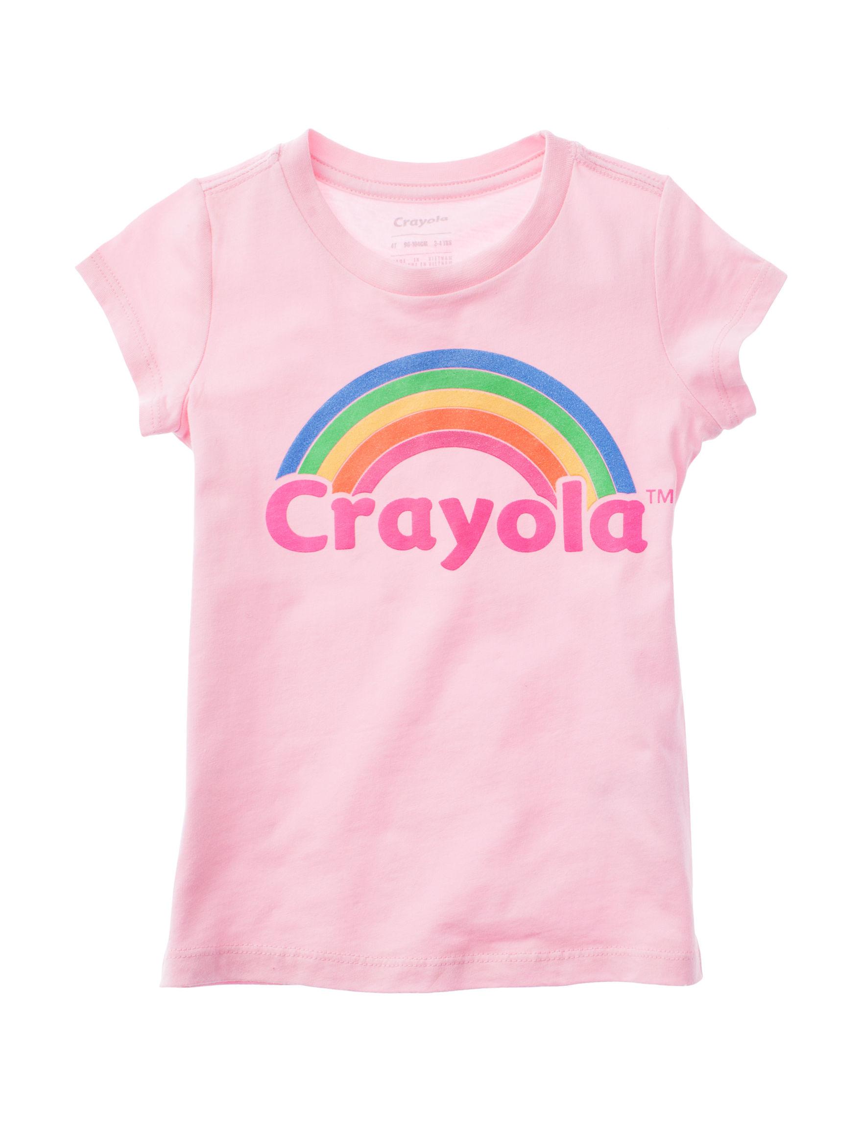 Crayola, LLC Dusty Pink Tees & Tanks