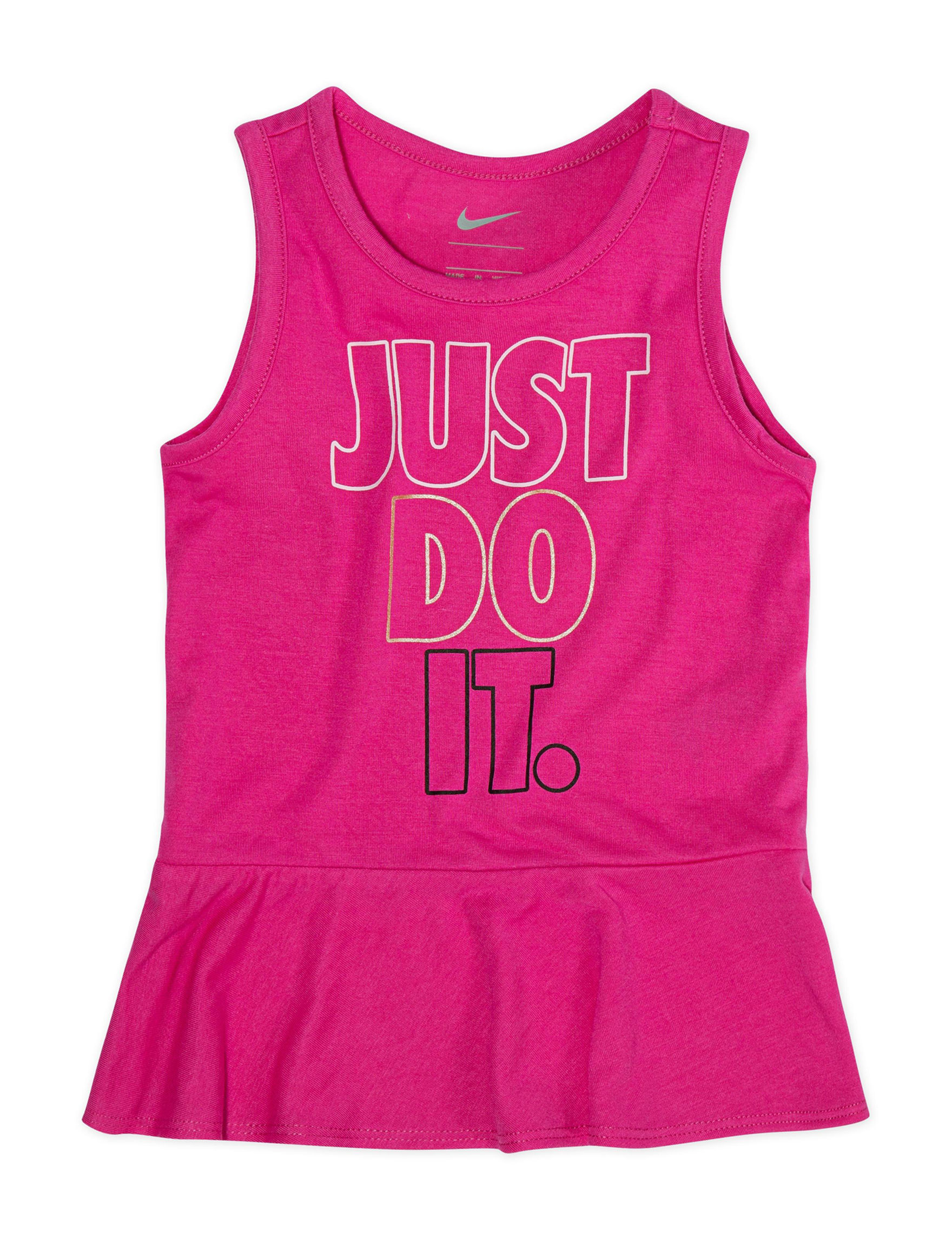 Nike Fuschia Tees & Tanks