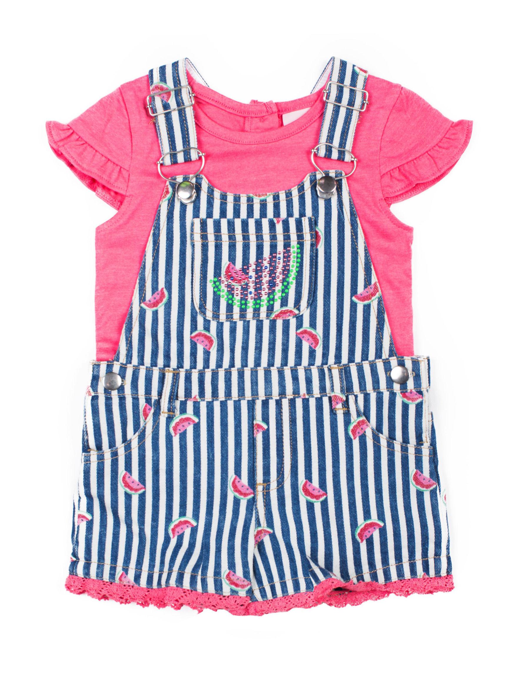 Little Lass Navy / White / Pink