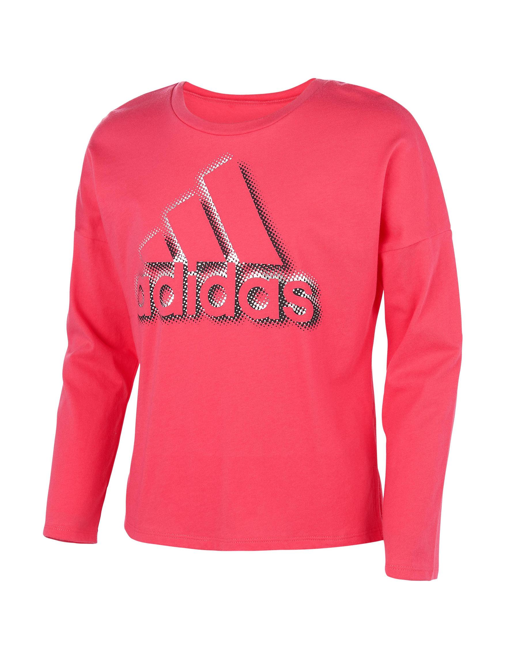 Adidas Pink Tees & Tanks