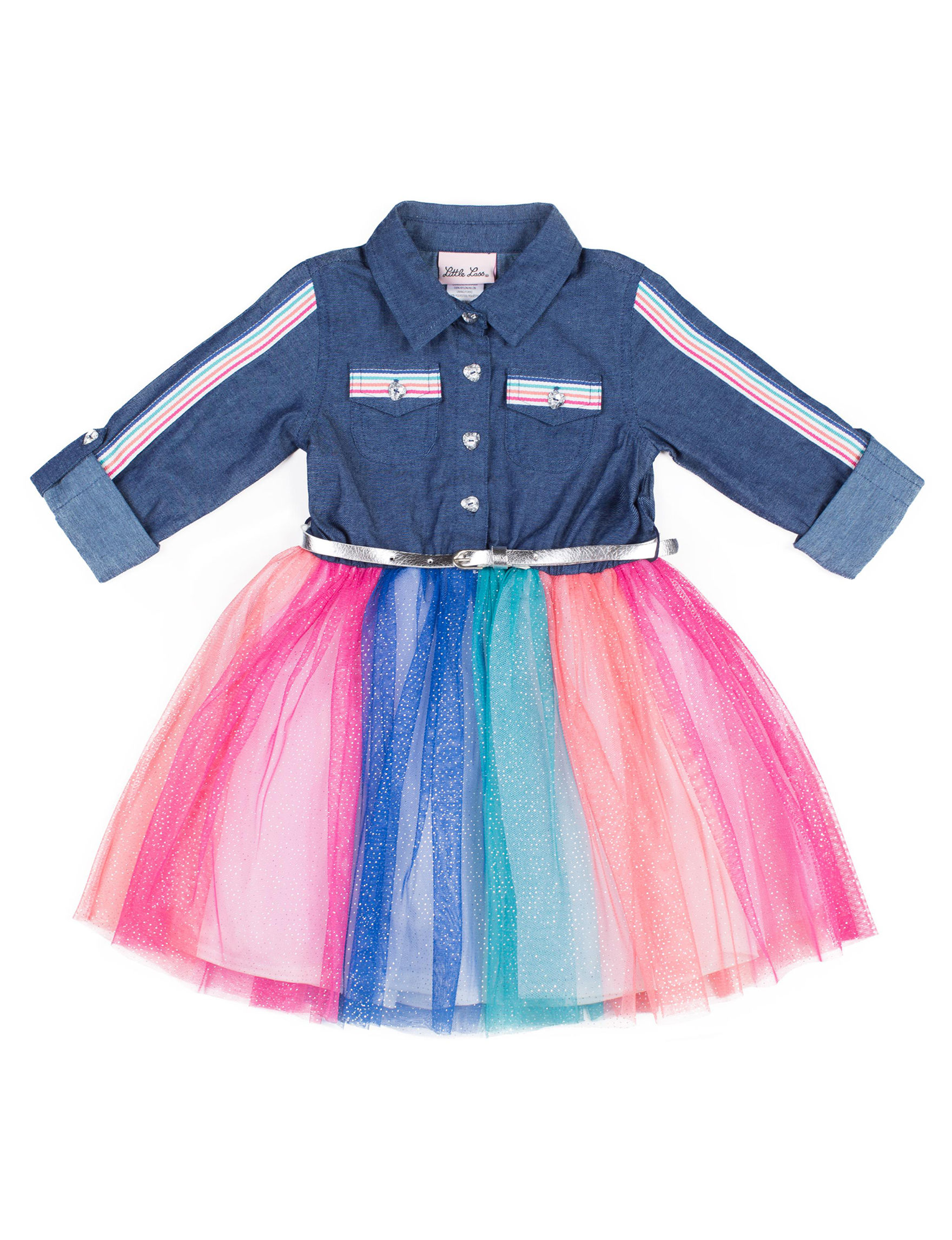 Little Lass Denim / Rainbow