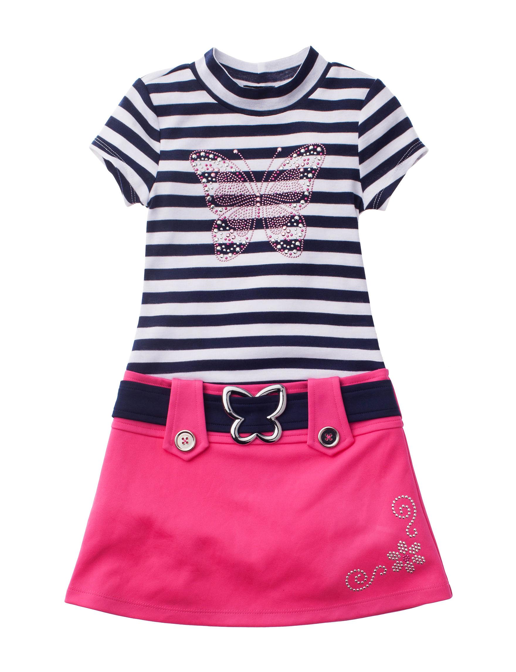 Lilt Pink / Navy / White