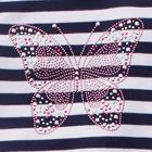 Pink / Navy / White