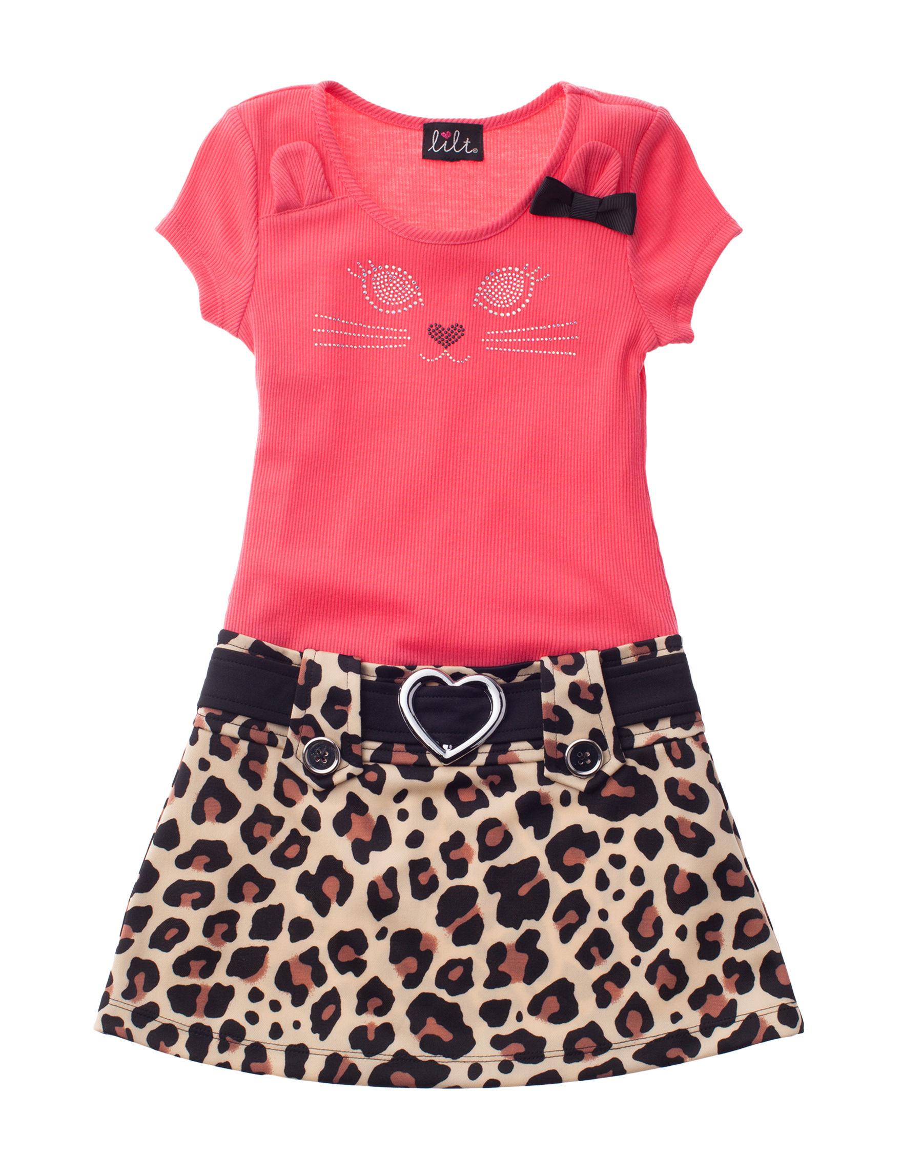 Lilt Coral / Leopard