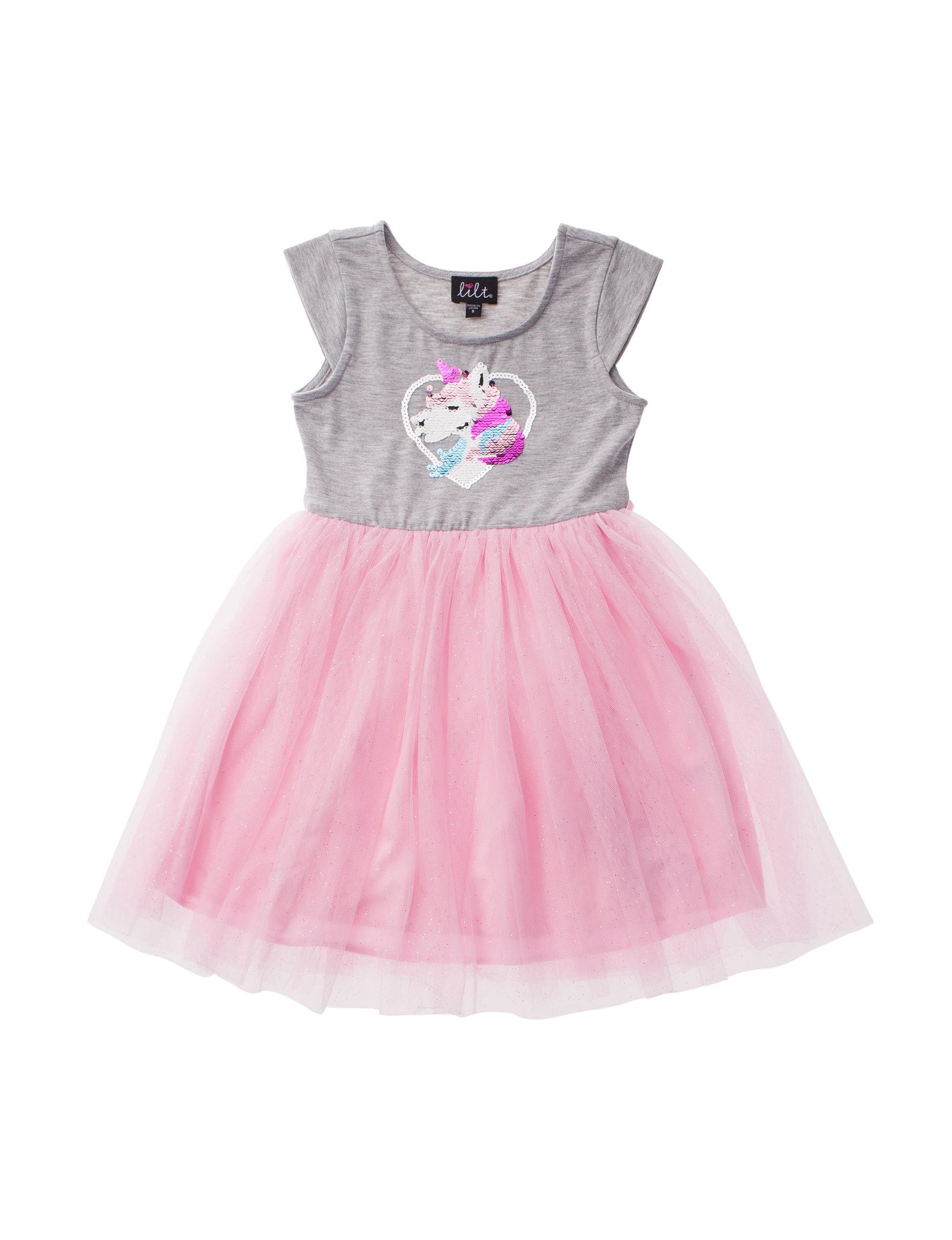 Lilt Grey / Pink Multi
