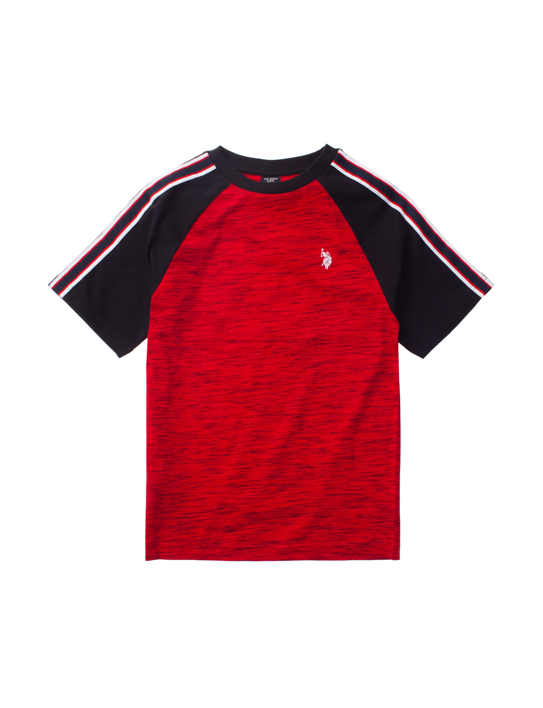 U.S. Polo Assn. Red / Black Tees & Tanks
