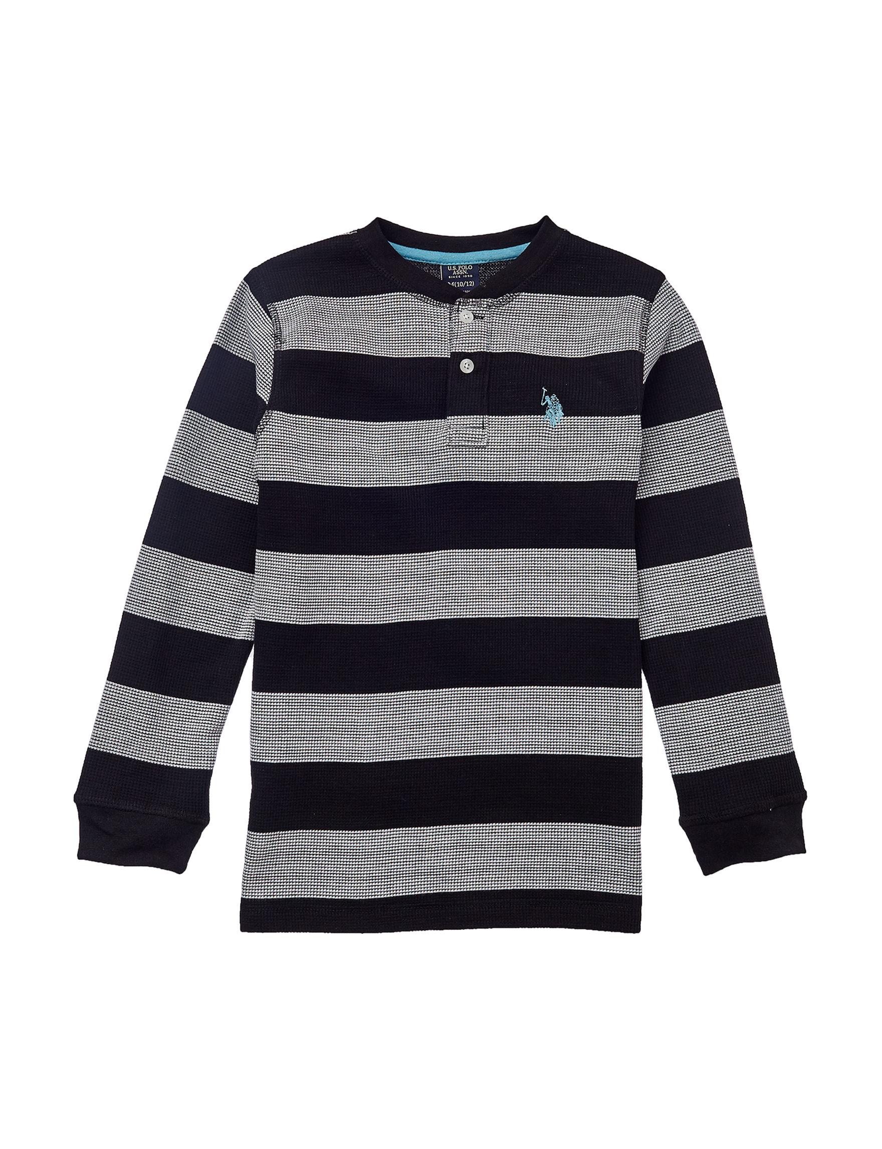 U.S. Polo Assn. Grey / Black
