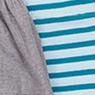 Grey / Turquoise