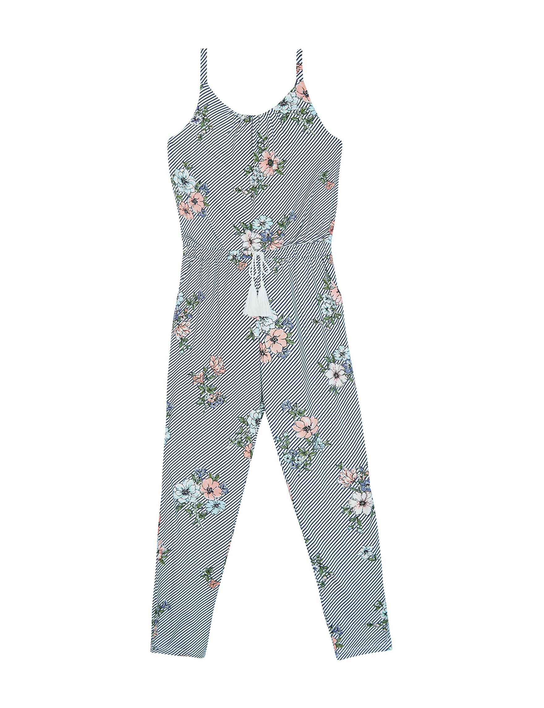 2976124dedc7b Amy Byer Floral Tassel Jumpsuit - Girls 7-16 | Stage Stores