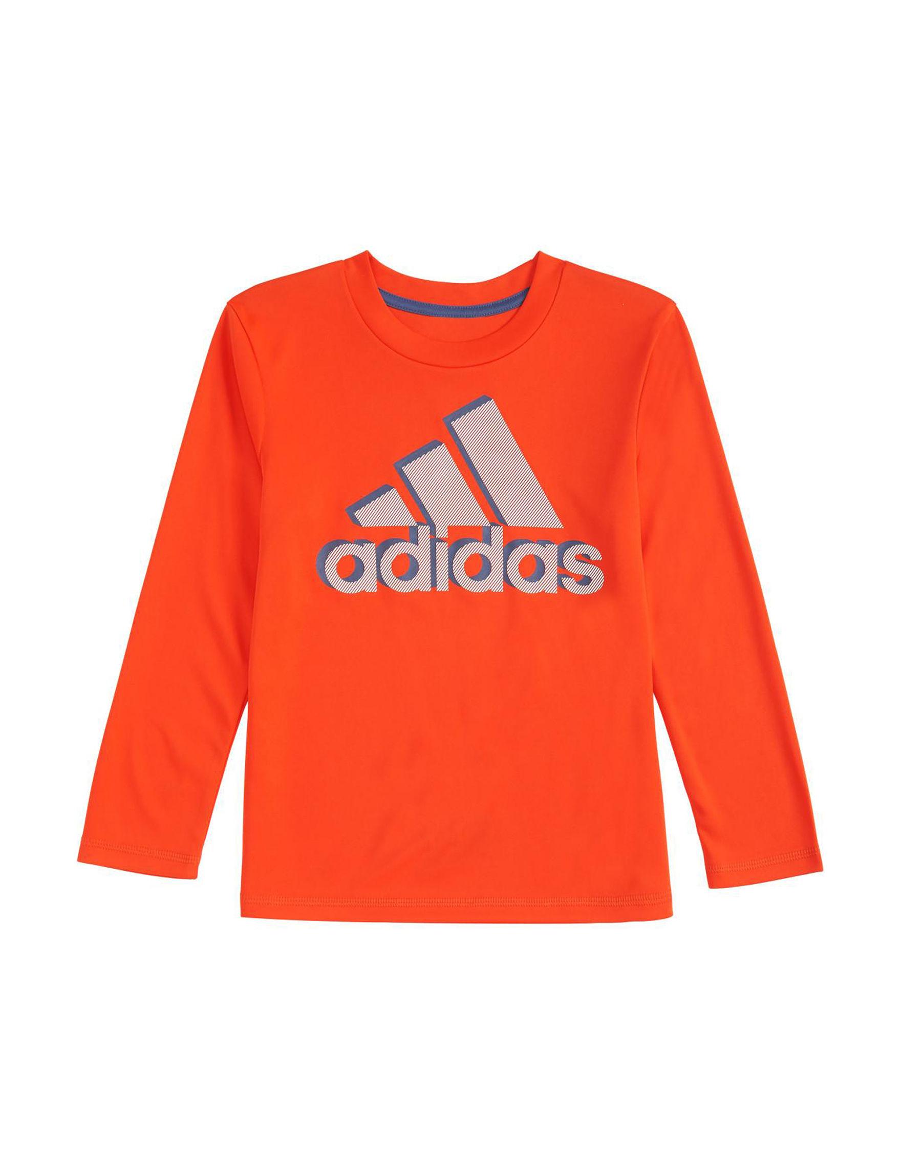 Adidas Bright Orange Tees & Tanks