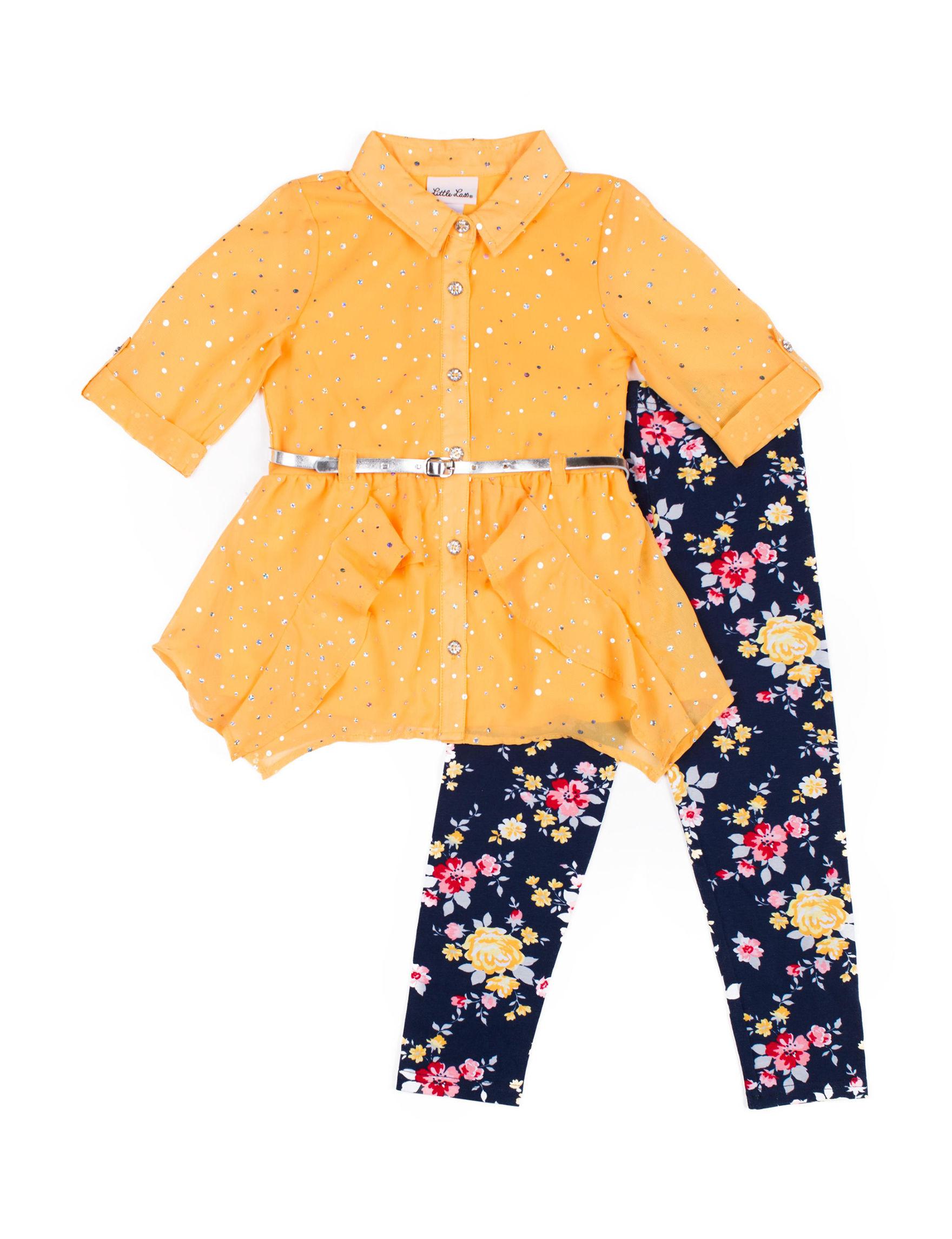 Little Lass Yellow Floral