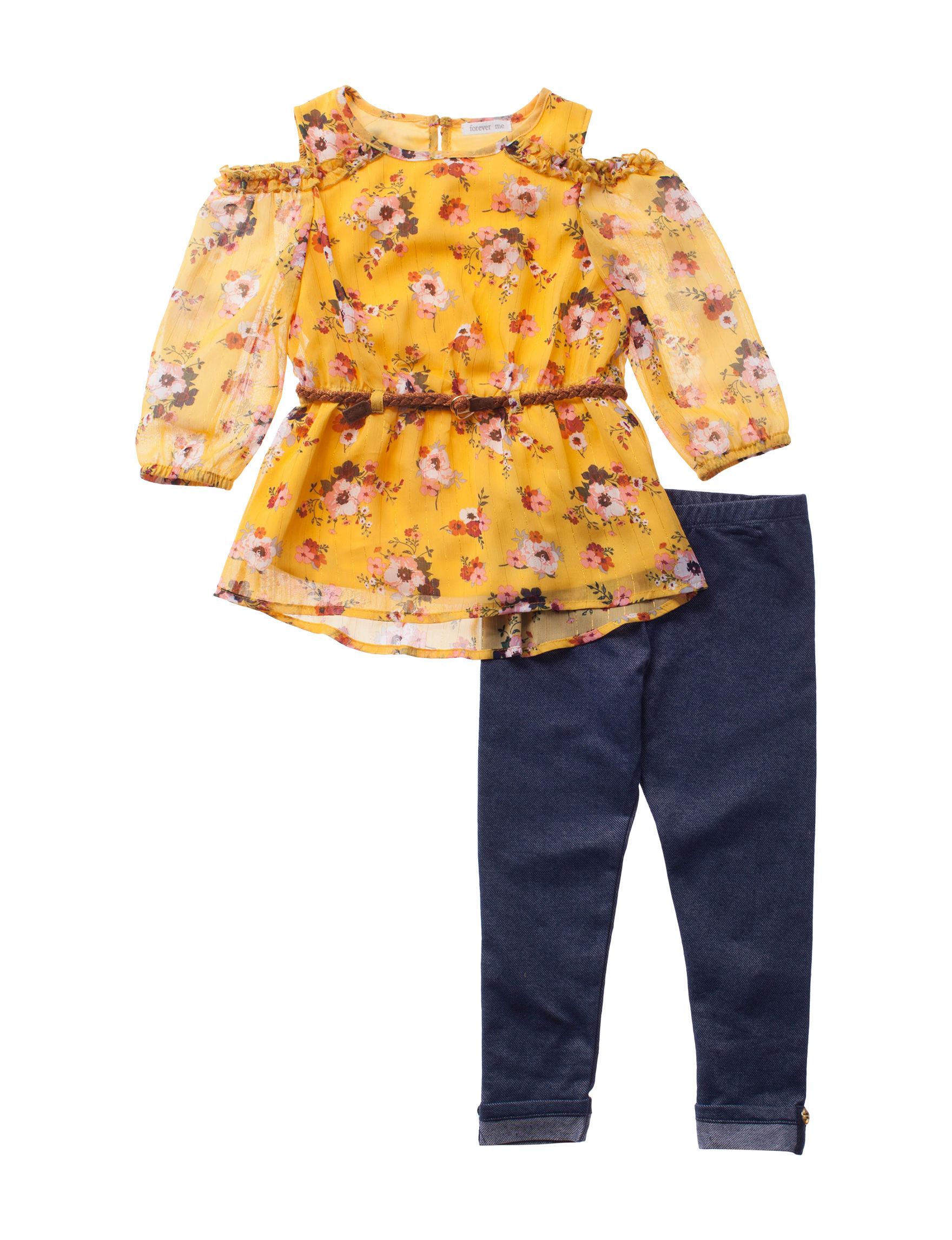 Forever Me Yellow Floral