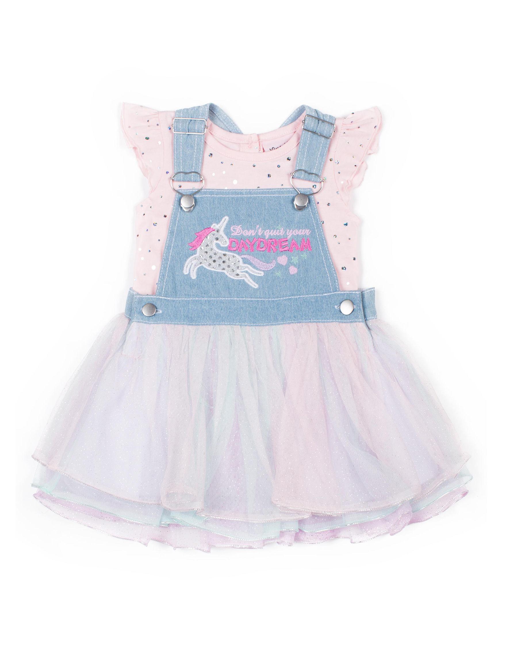 Little Lass Pink / Denim