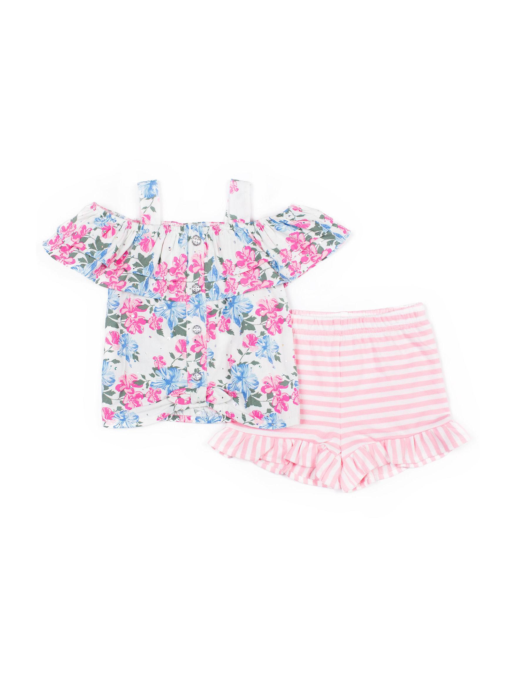 Little Lass Stripe / Floral